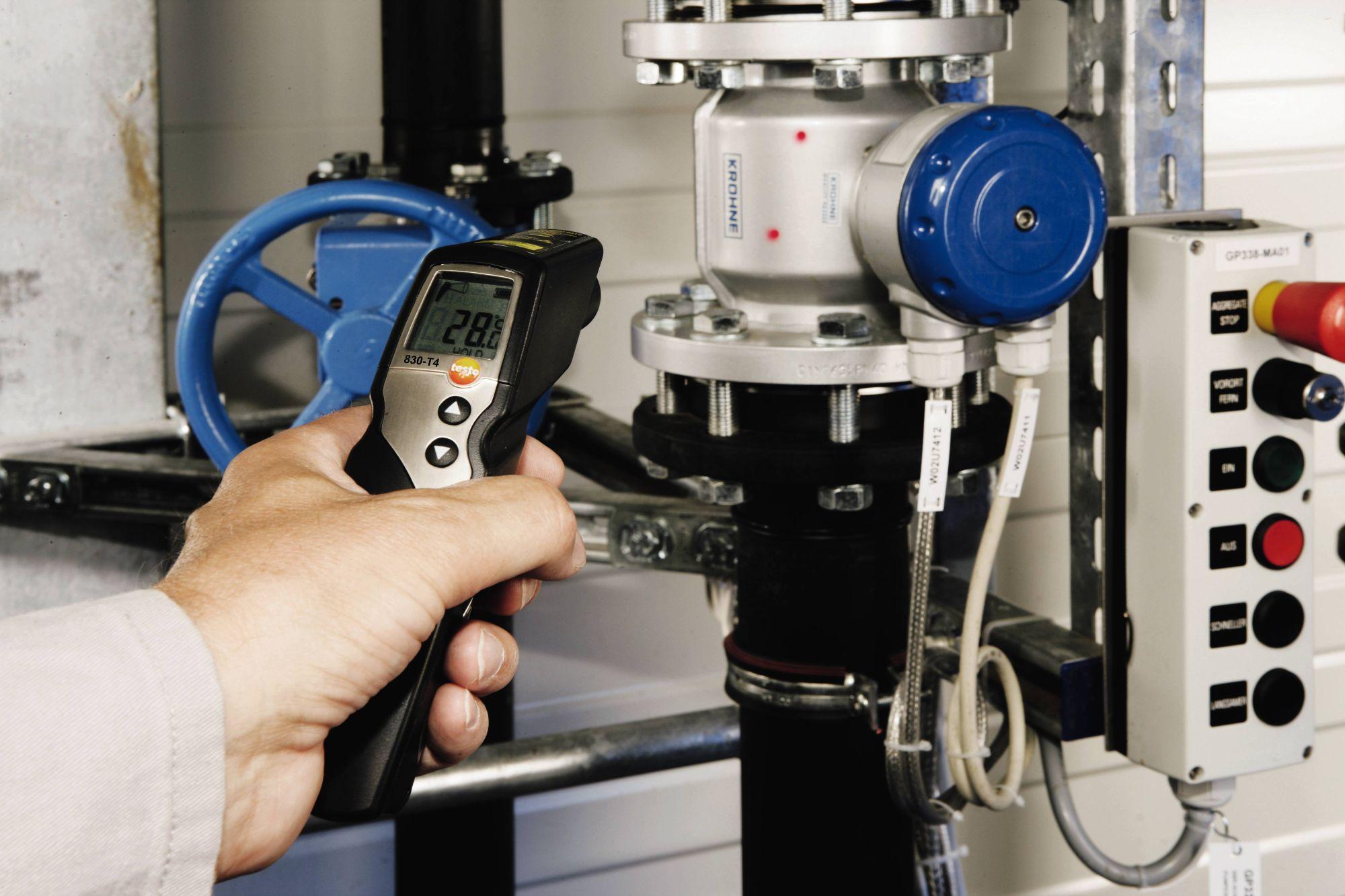 testo 830-T4 infrarood temperatuurmeetinstrument