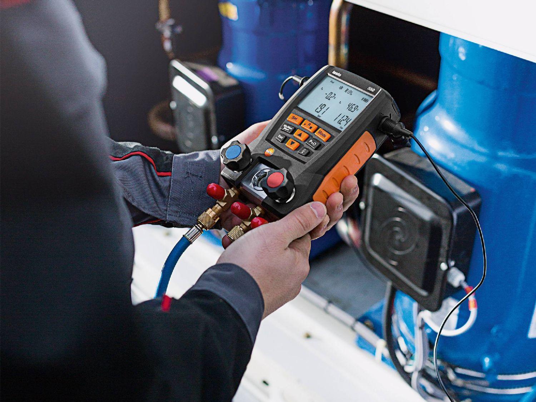Measurement technology heat pumps
