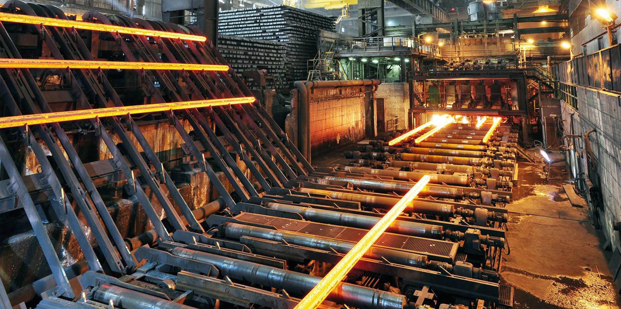 Plantas metalúrgicas y siderúrgicas