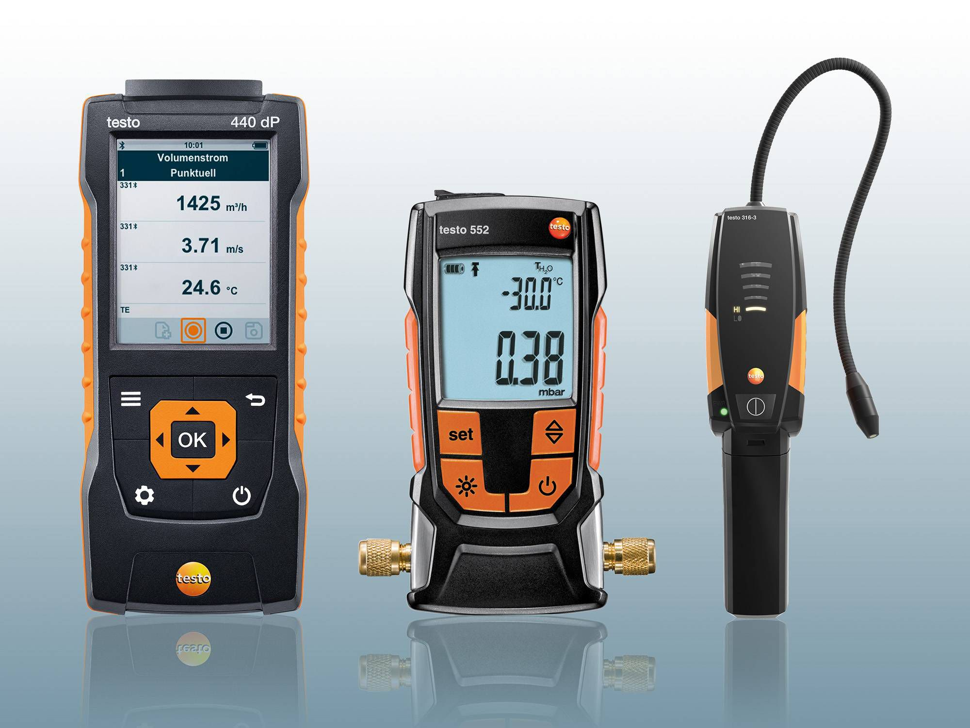 More measuring instruments for the refrigeration professional.
