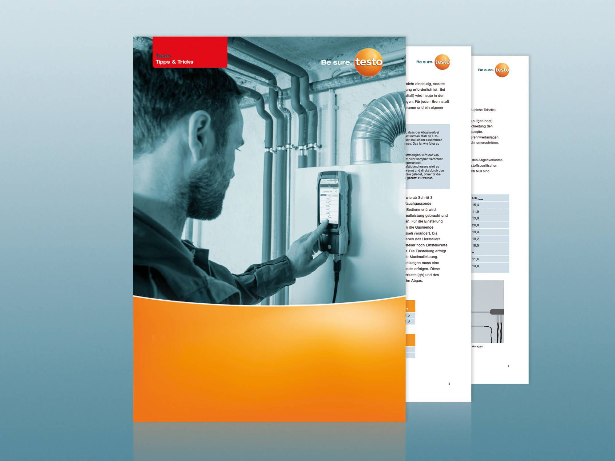 Application guide heating systems