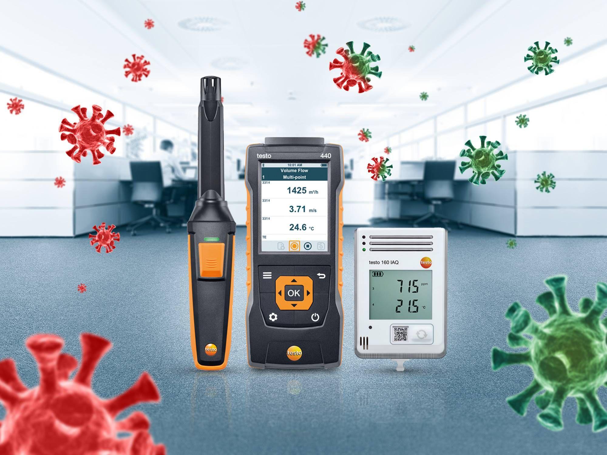 德图室内空气质量舒适度的测量技术多功能测量仪