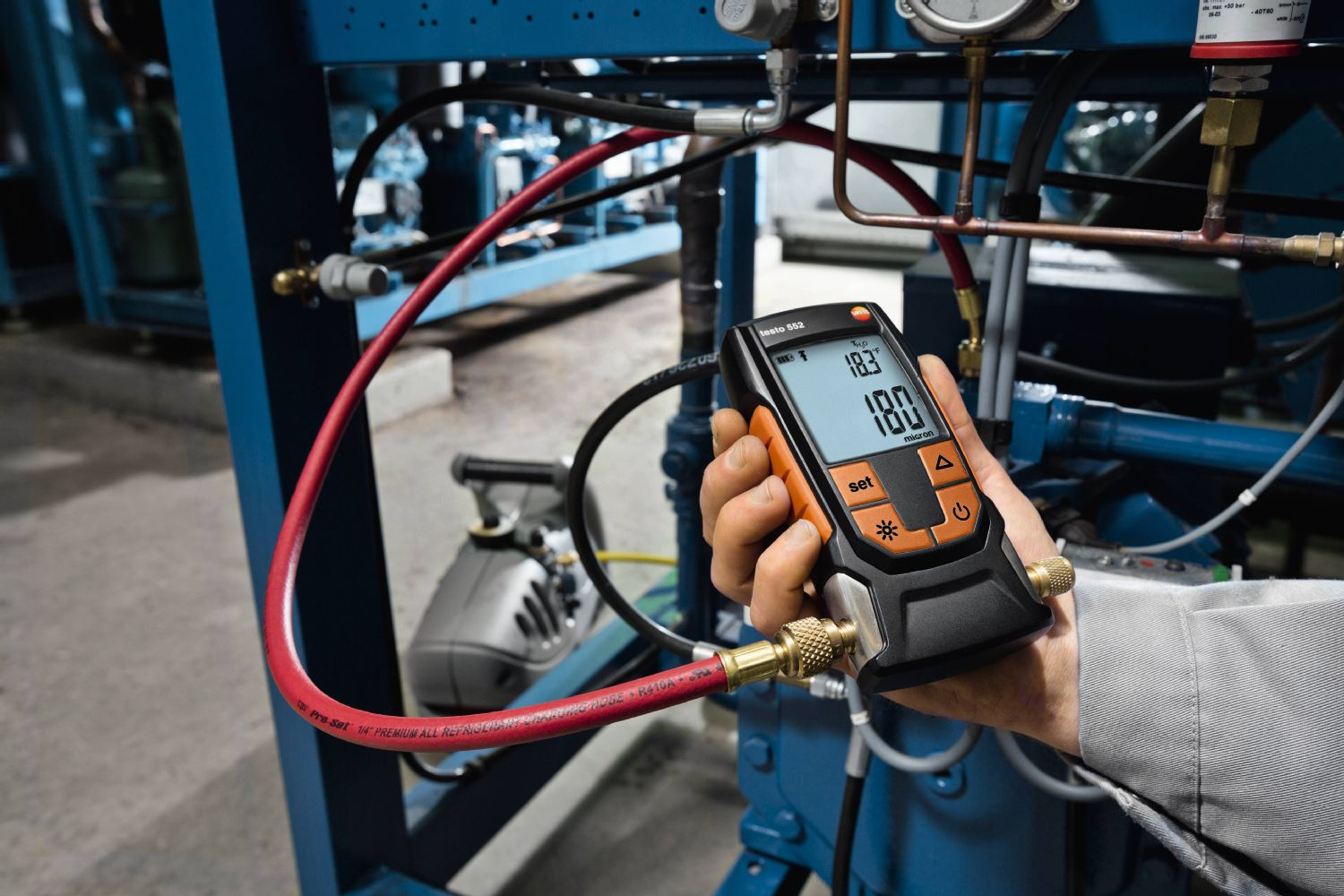 The testo 552 is one of key tools used to assist training in South Metropolitan.