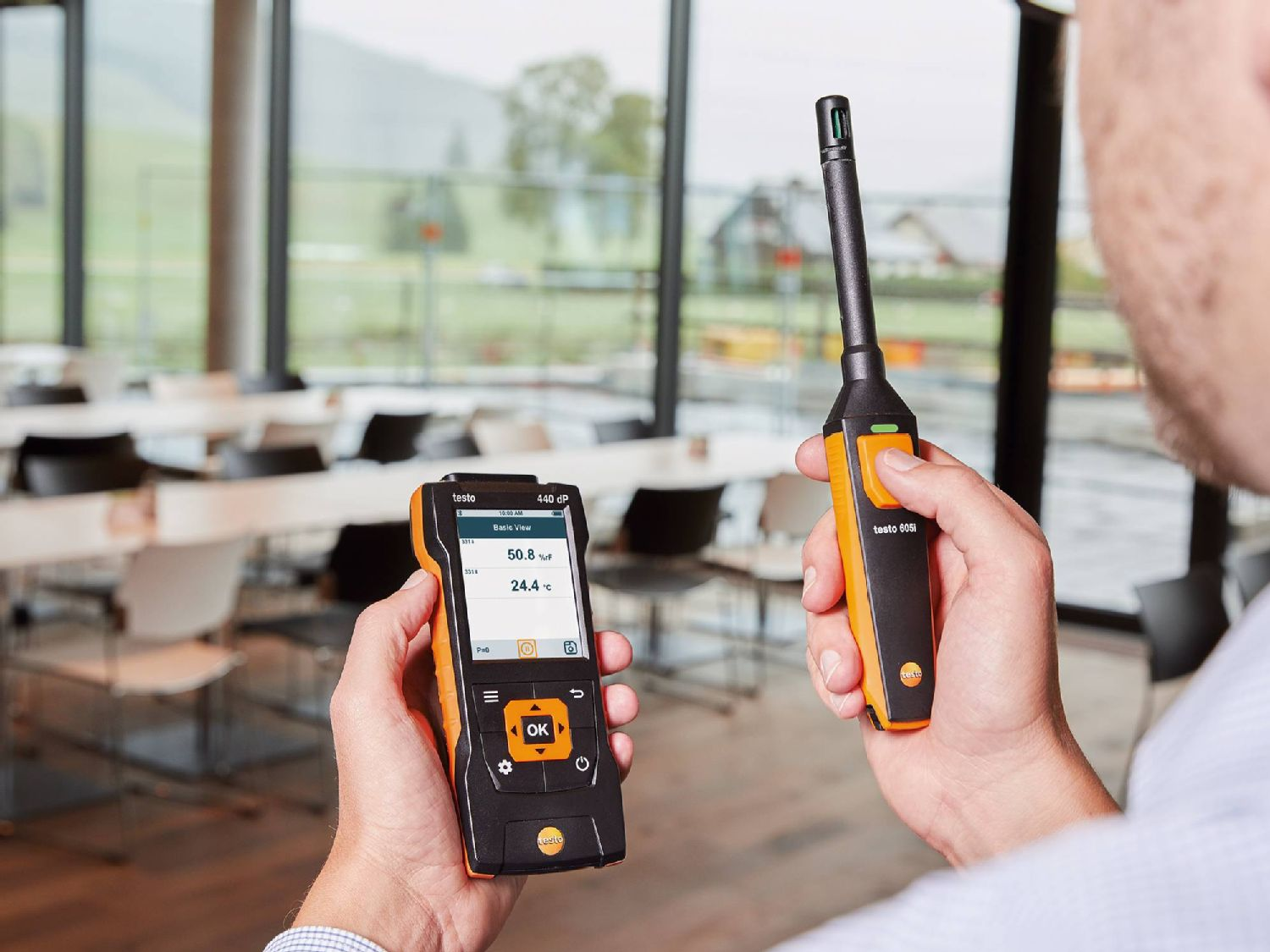 testo 440 – Kit umidità con Bluetooth