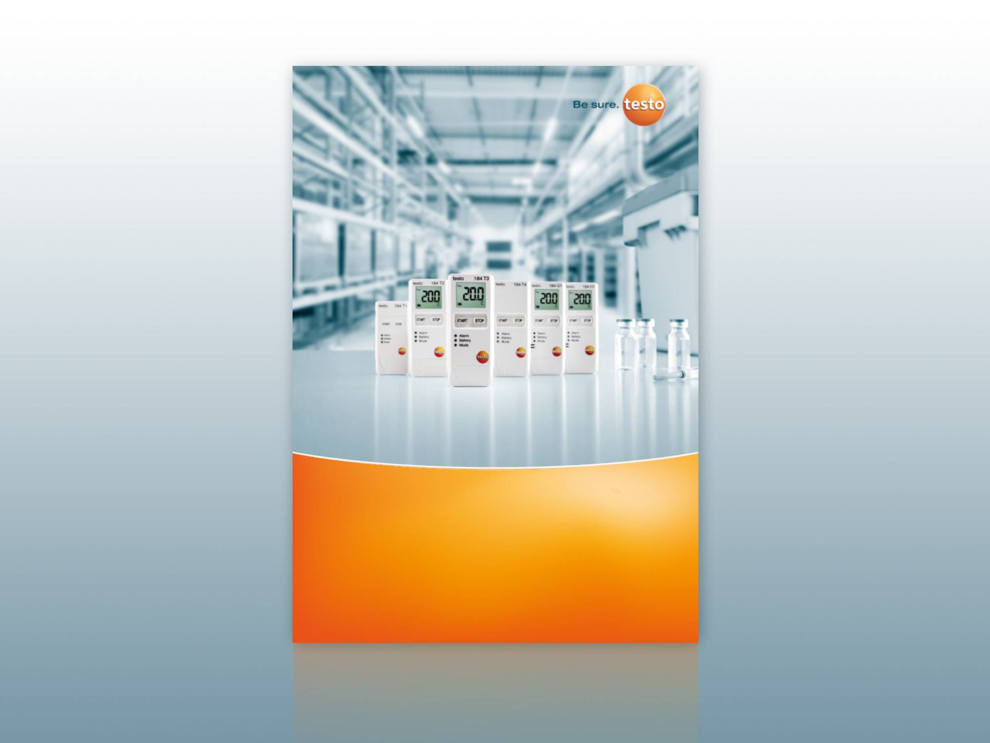 Data logger testo 184: Climate monitoring and data documentation when transporting pharmaceuticals