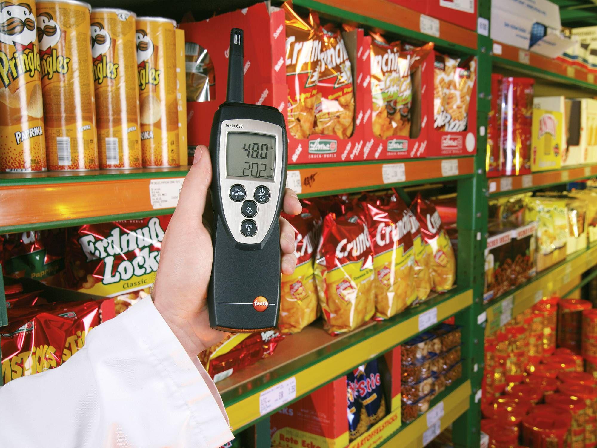 Testo humidity measurement