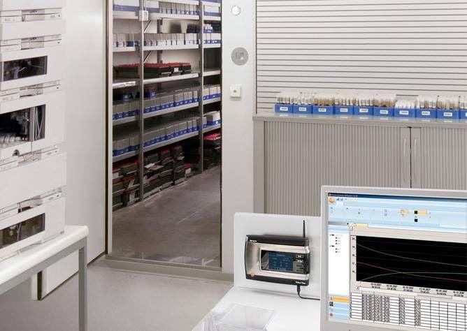医药仓库温湿度实时监测和系统合规性