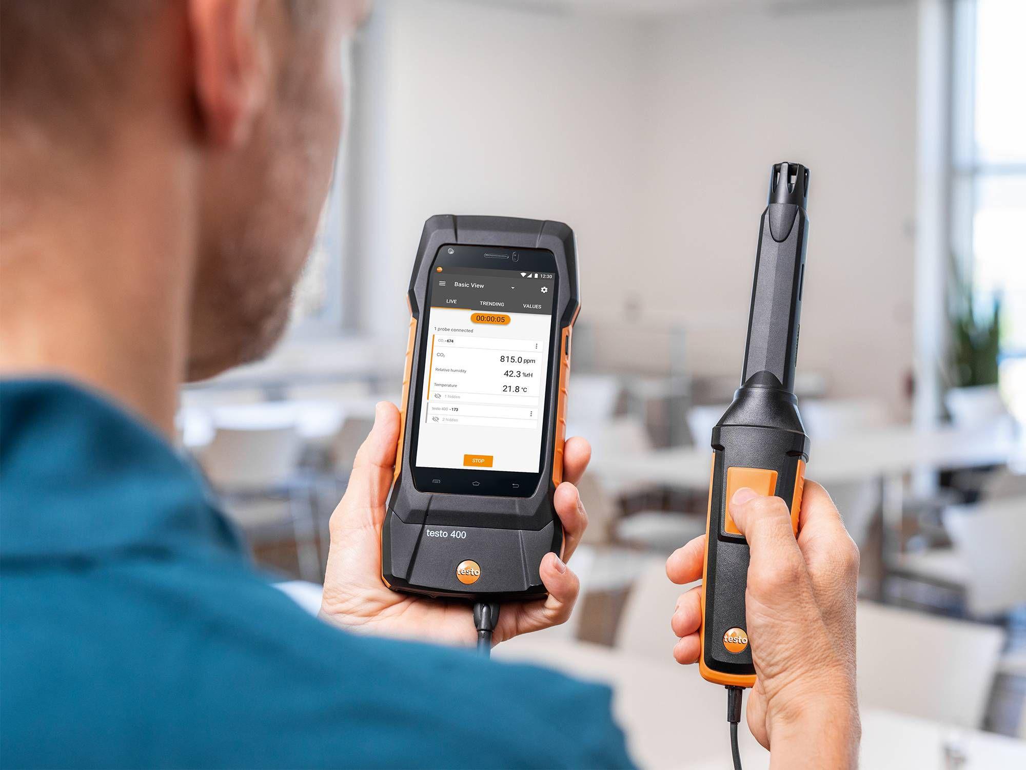 testo 400双联通用型测量仪