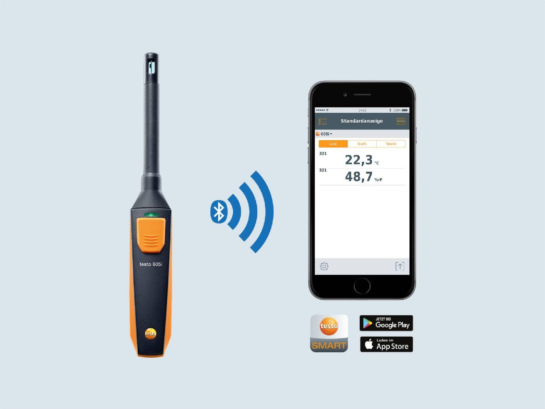 Hygrometer app
