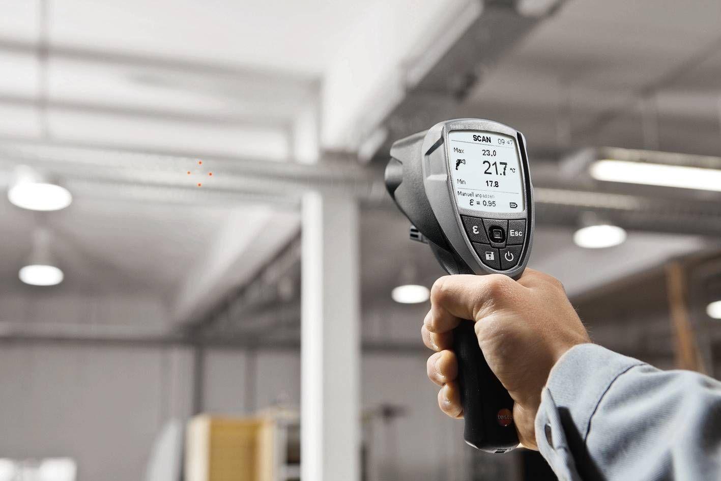 testo 835-T1 infrarood temperatuurmeetinstrument