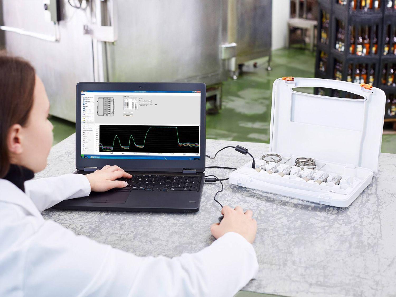 用于testo 191 HACCP数据记录仪的多功能箱