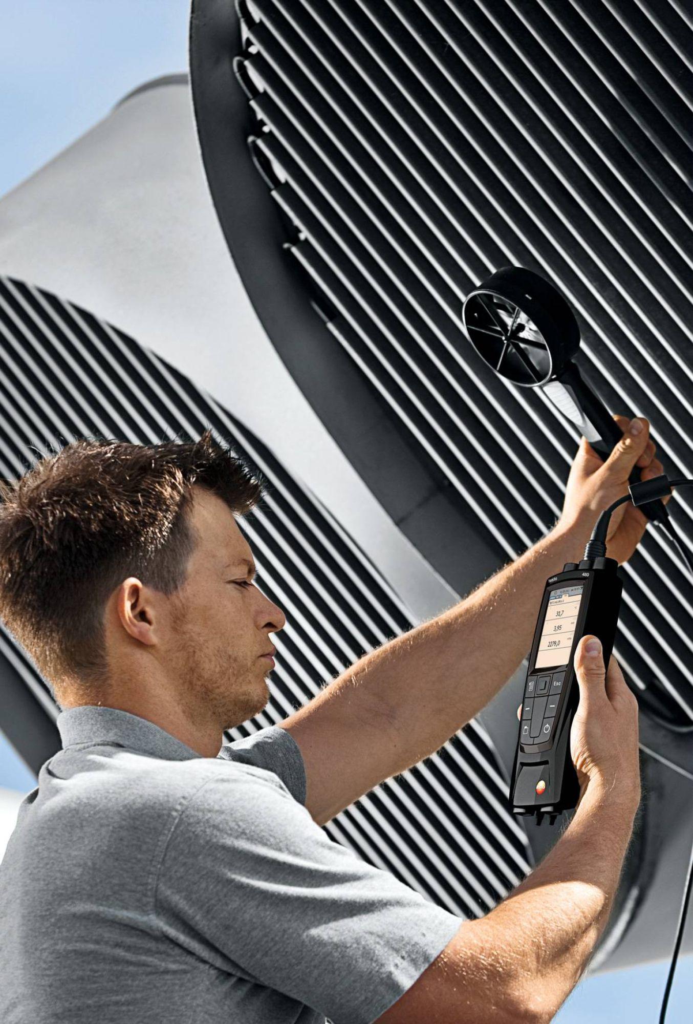 testo多功能测量仪通风空调系统