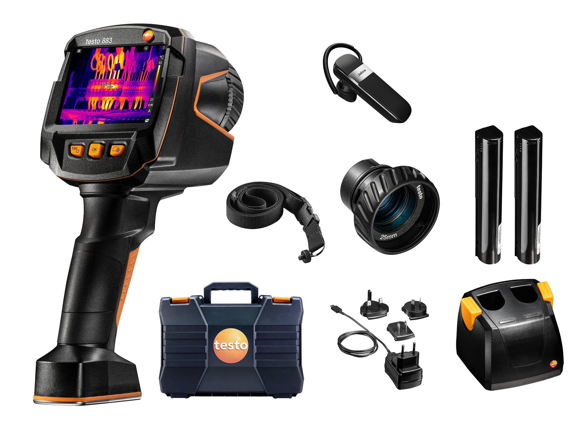 testo 883 kit thermal imager