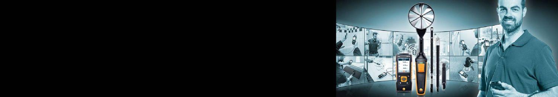 <b>Testez</b> l'analyseur de climat testo 440.