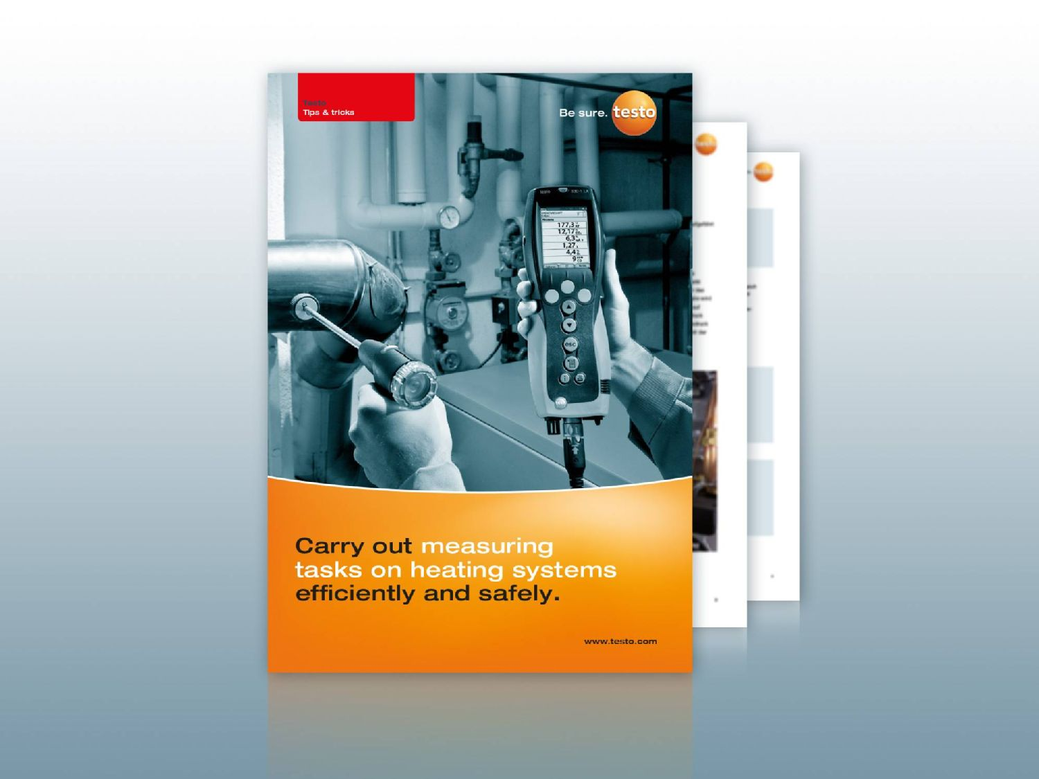 Tips and tricks: Carry out measuring tasks on heating systems efficiently and safely