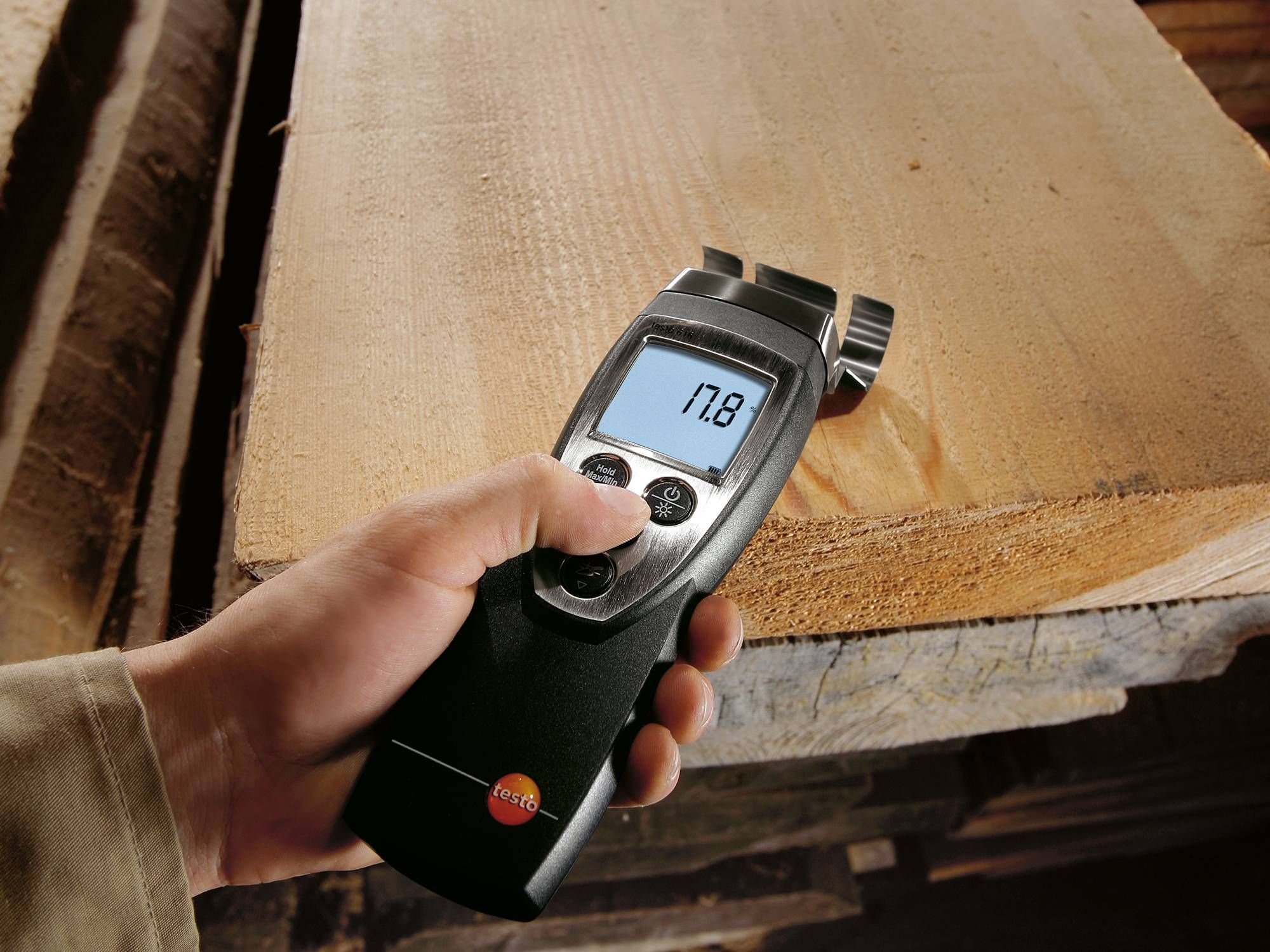Testo humidity measurement