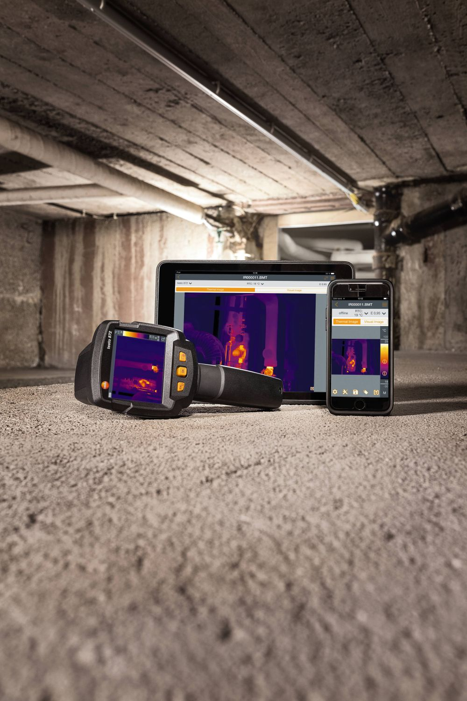 Neue Testo Wärmebildkameras mit smarten und innovativen Funktionen