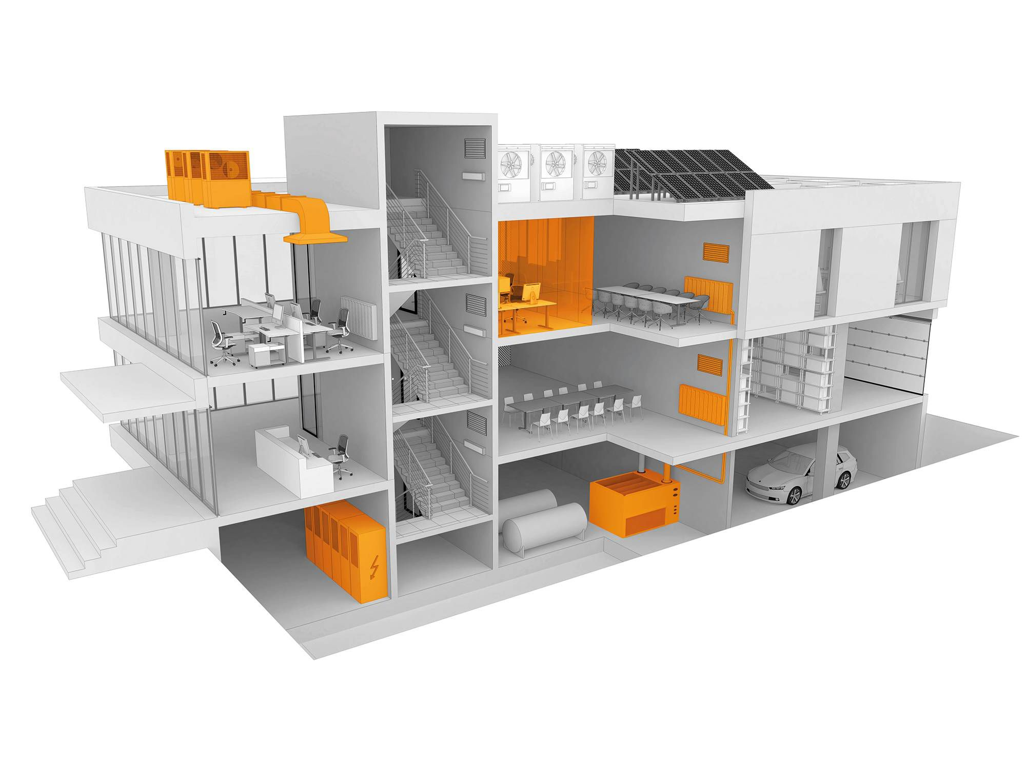 室内环境测量解决方案技术设施管理测量任务
