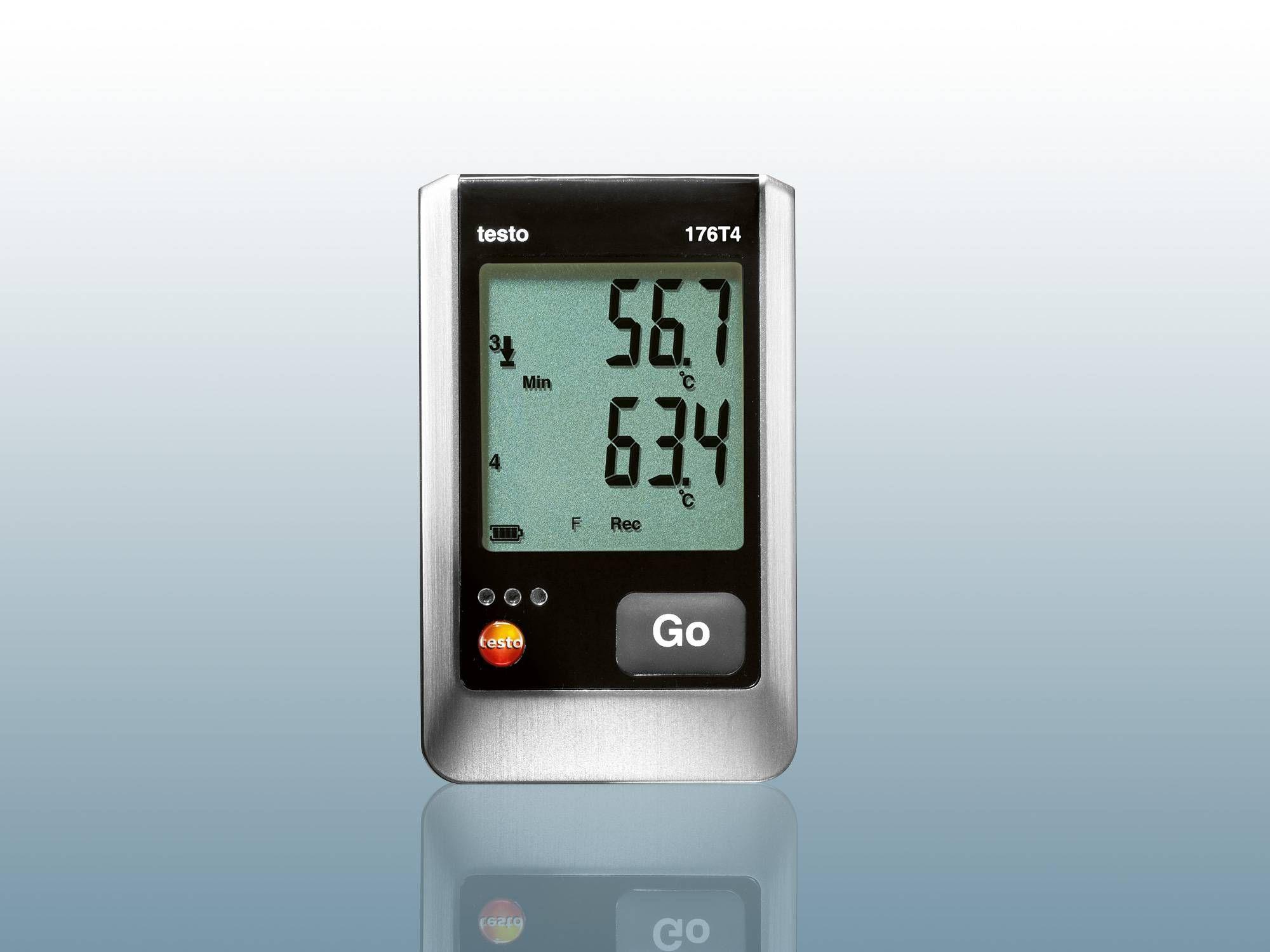 Temperature Data Logger : Temperature data logger for control testo