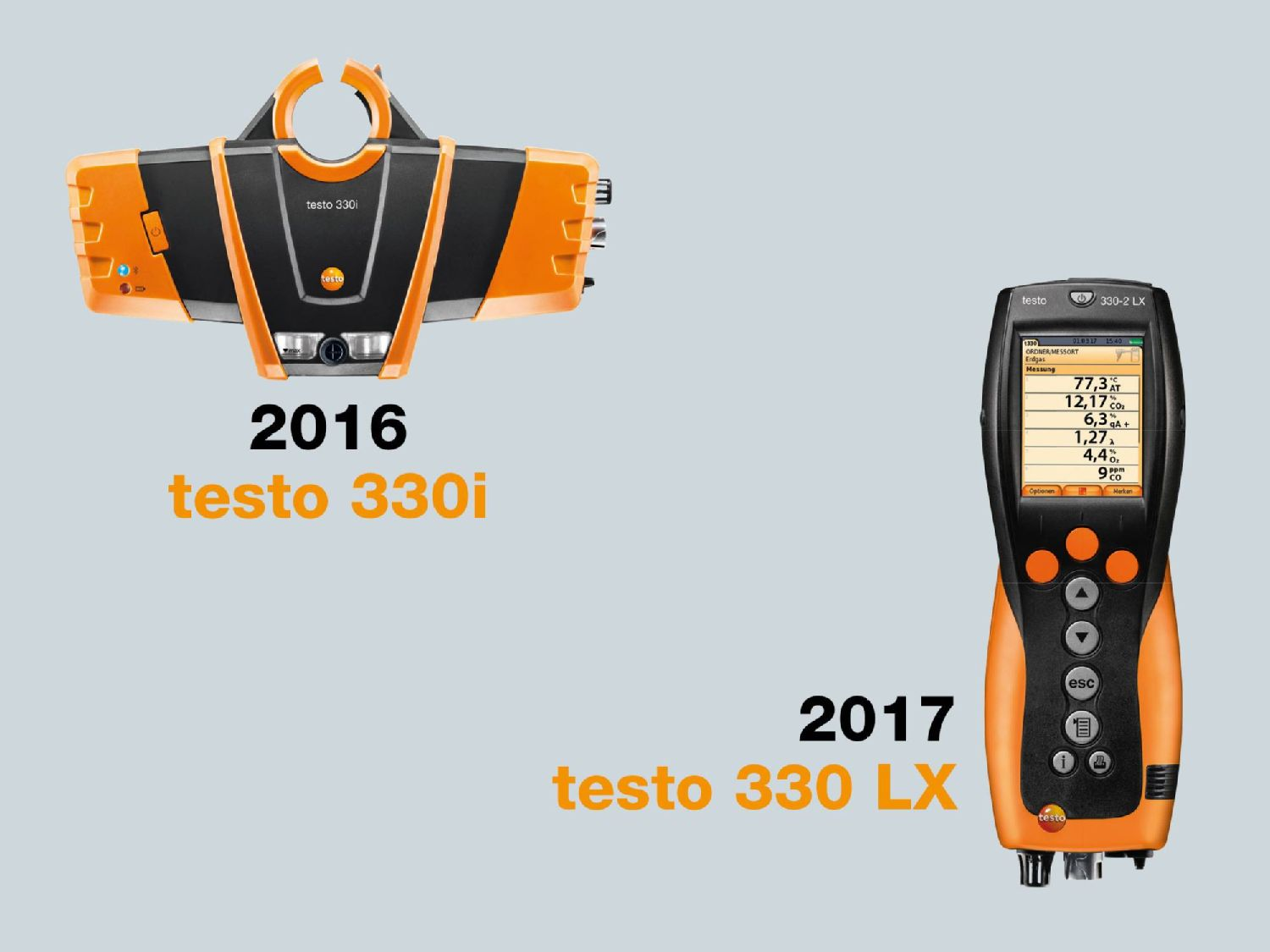 testo flue gas analyzers 2016-2017