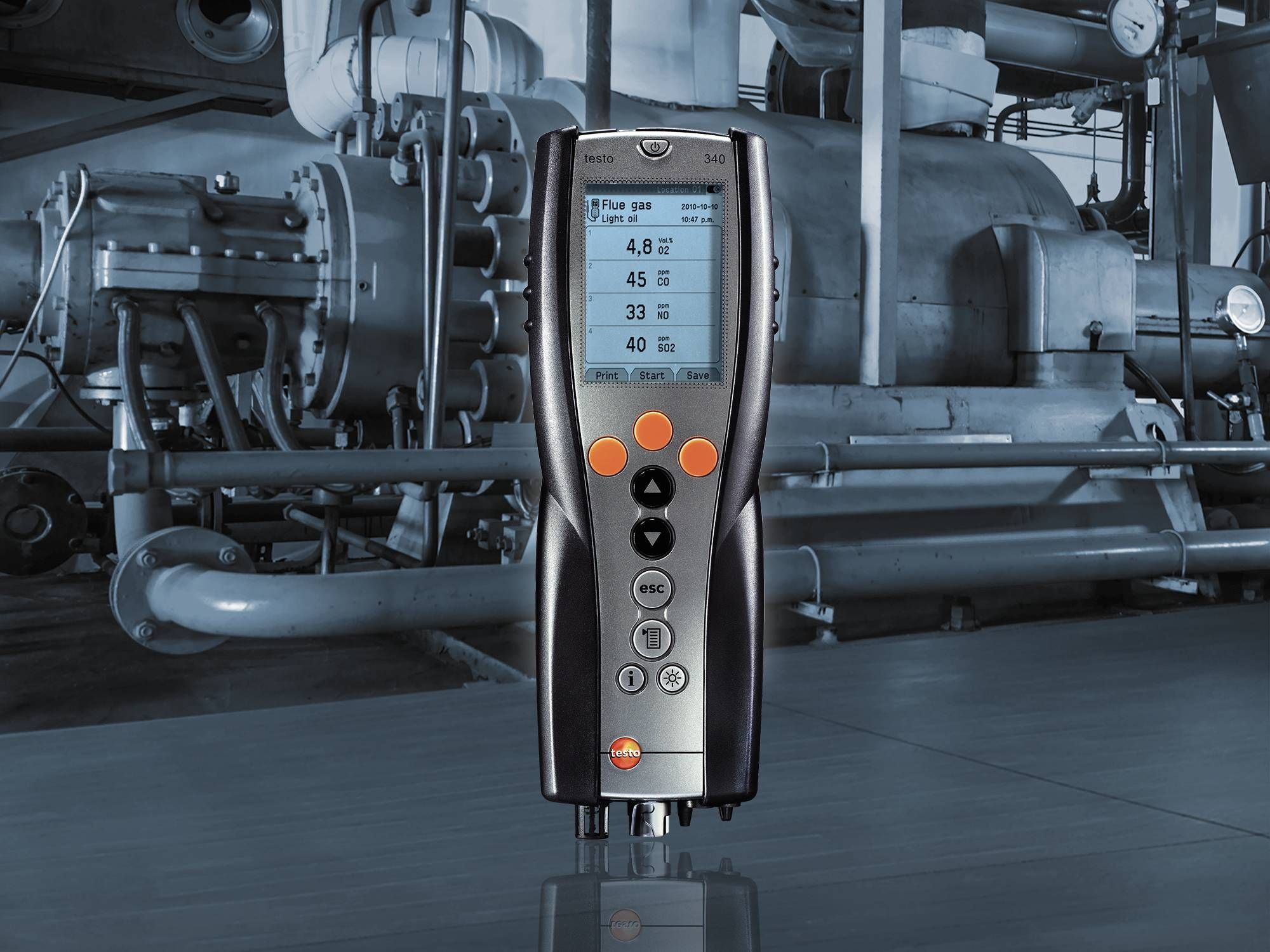 The Testo 340 add value to AGL Energy Services.