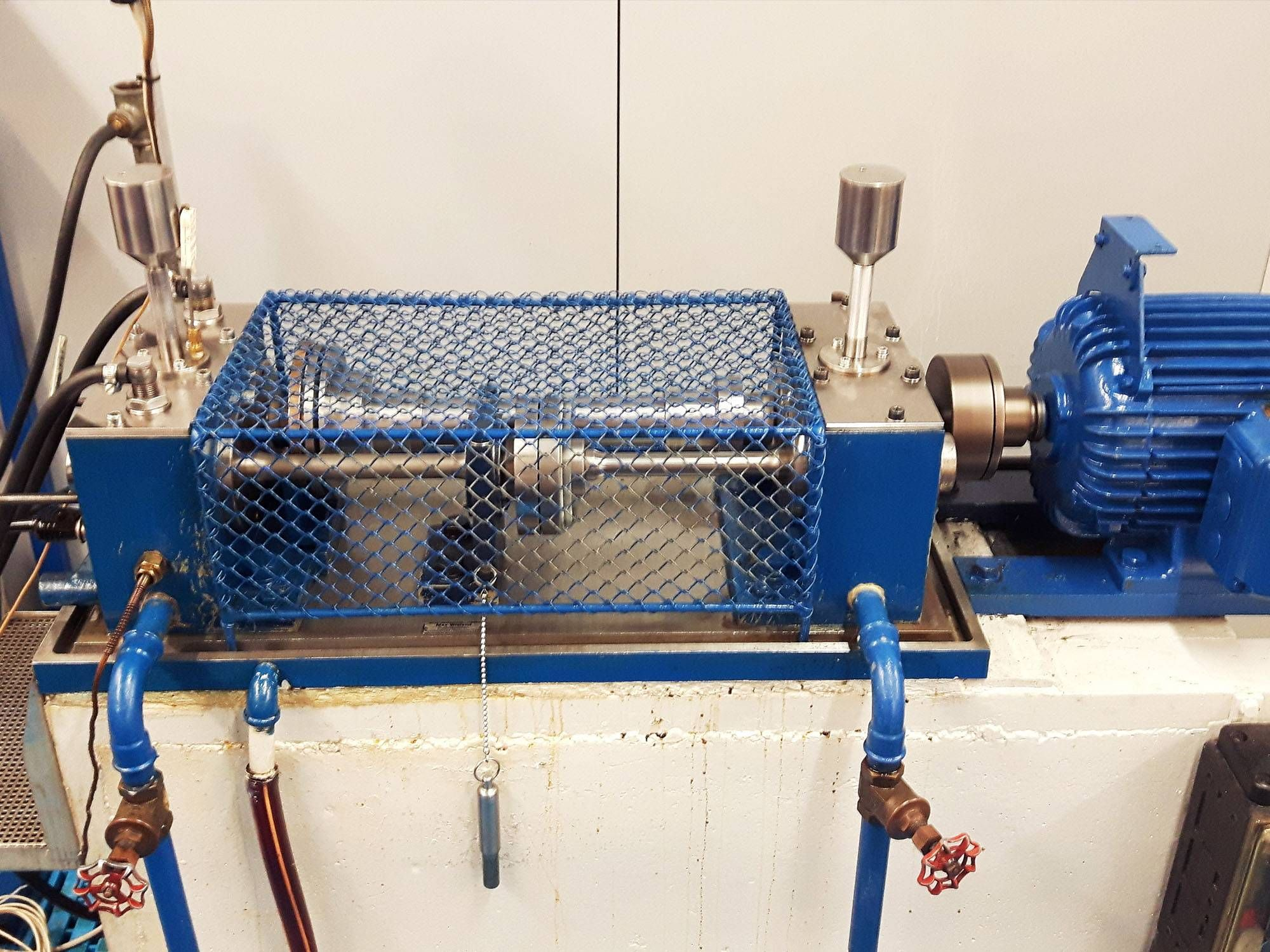 Standard test bench for testing lubrication behaviour