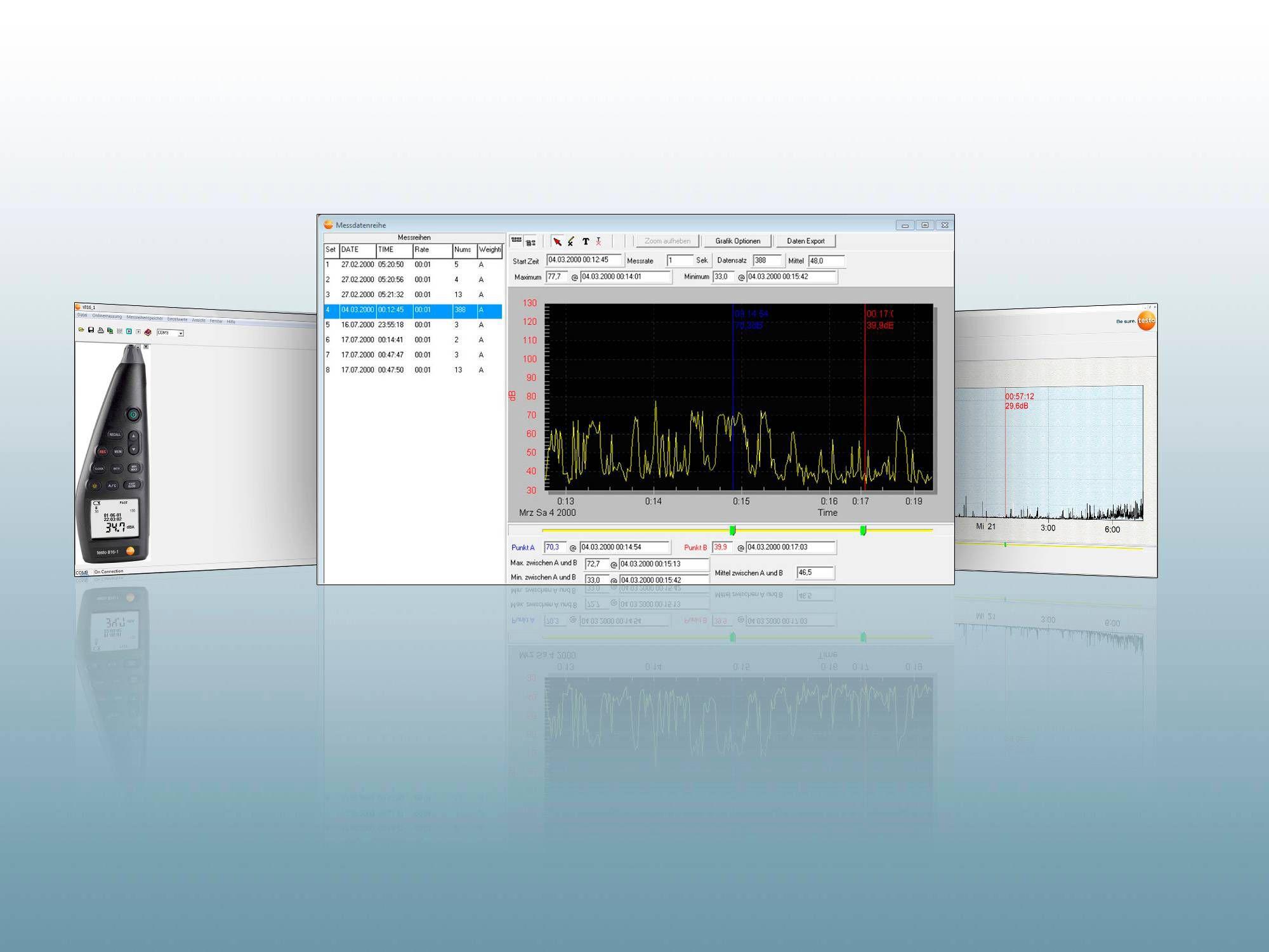 testo 816-1 PC software