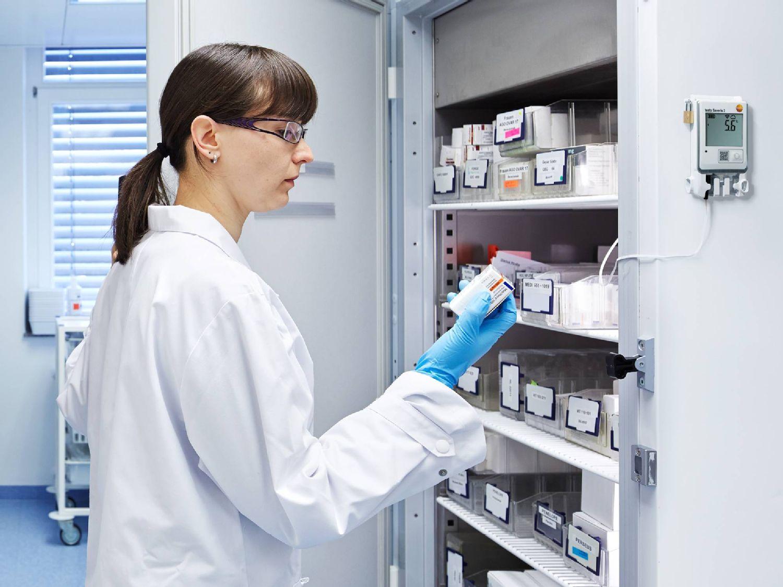 Solution Pharma Storage