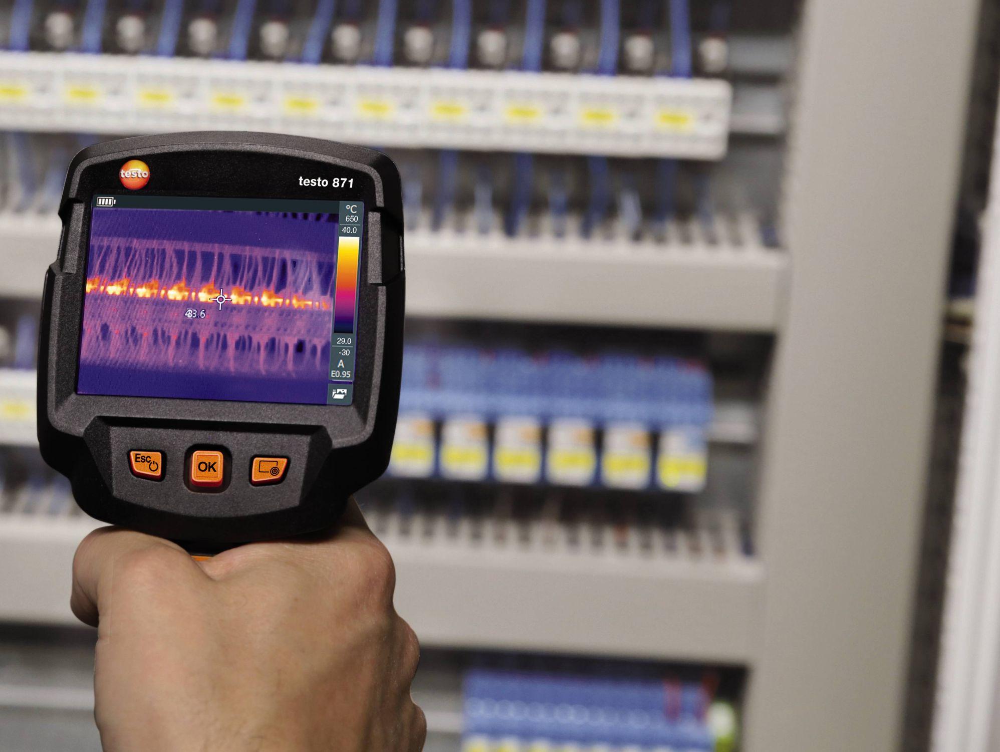 testo 871 Smarte Thermografie für professionelle Ansprüche.