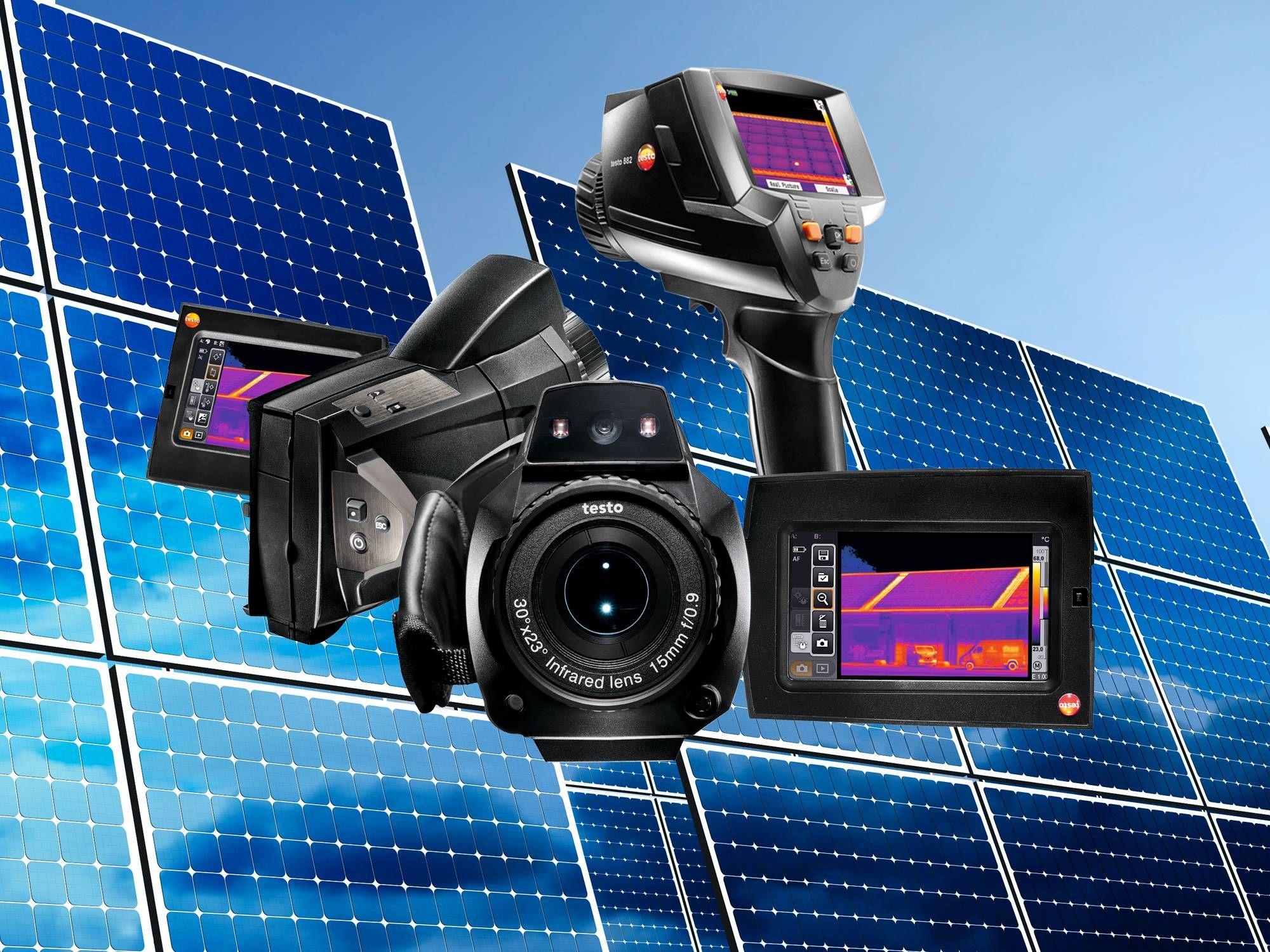 Termografía para parques solares