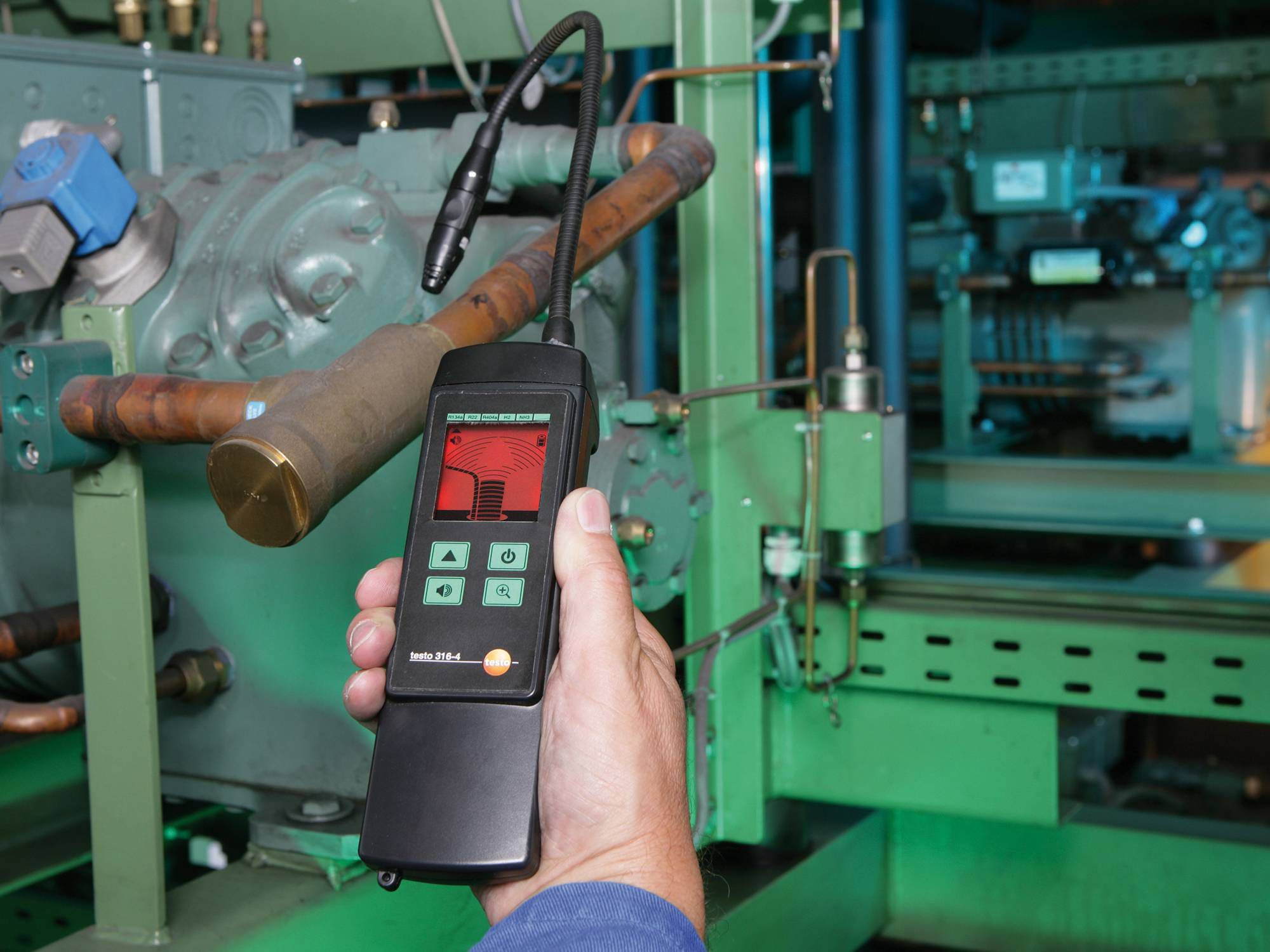 testo 316-4 leakge detector