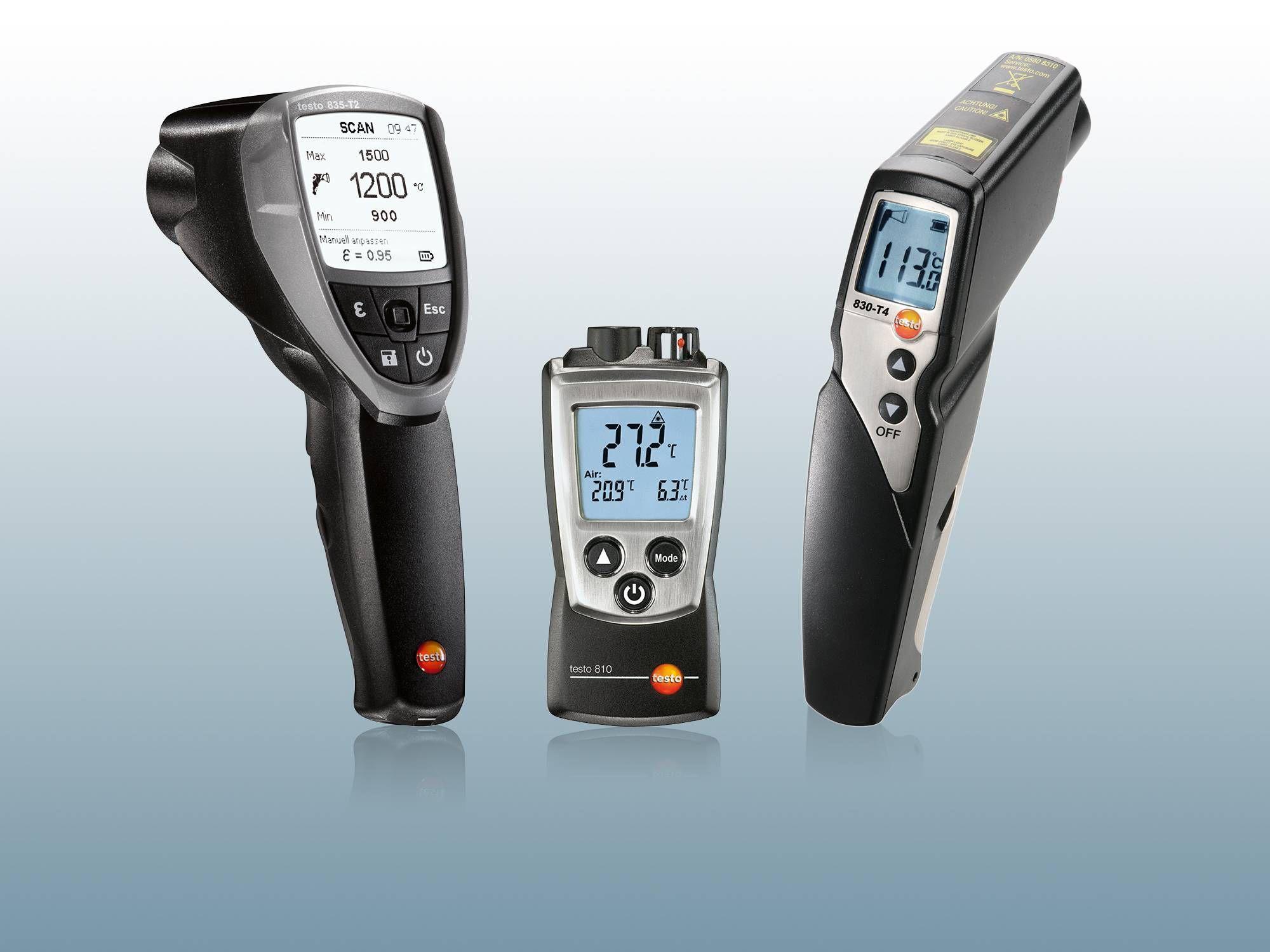 Přístroje pro měření teploty