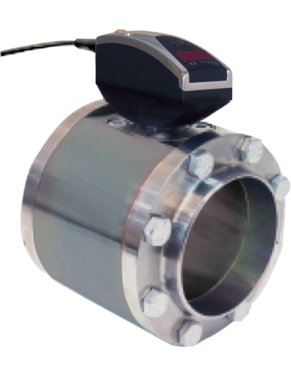 Compteur d'air comprimé pour les tuyaux de diamètre important
