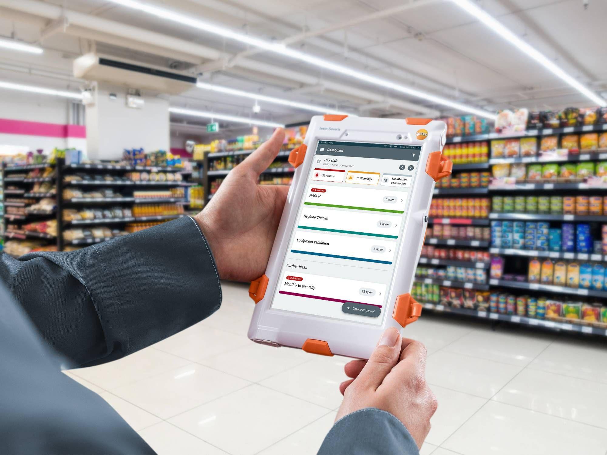 Optimizing processes supermarket