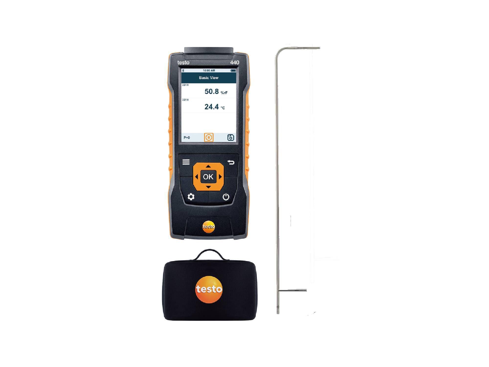 testo440 Delta P Air Flow ComboKit 2 with Bluetooth®