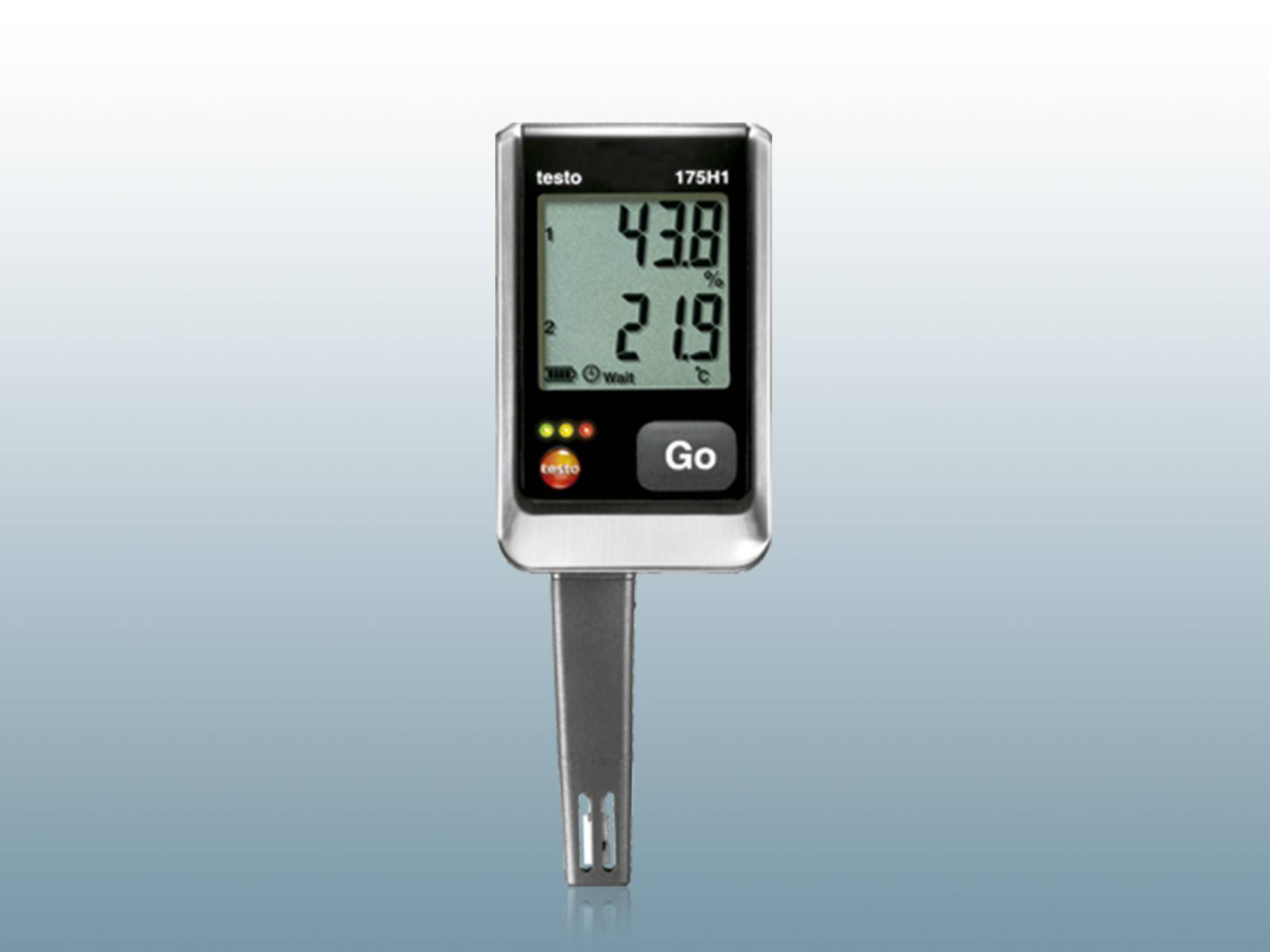 Data loggers for temperature and humidity
