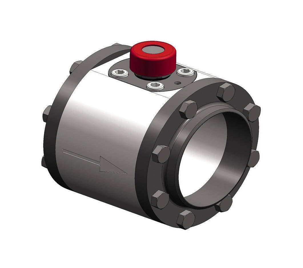 Compteur d'air comprimé avec robinet interchangeable