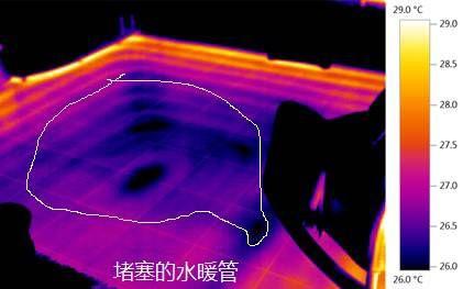 水暖管的堵塞检测