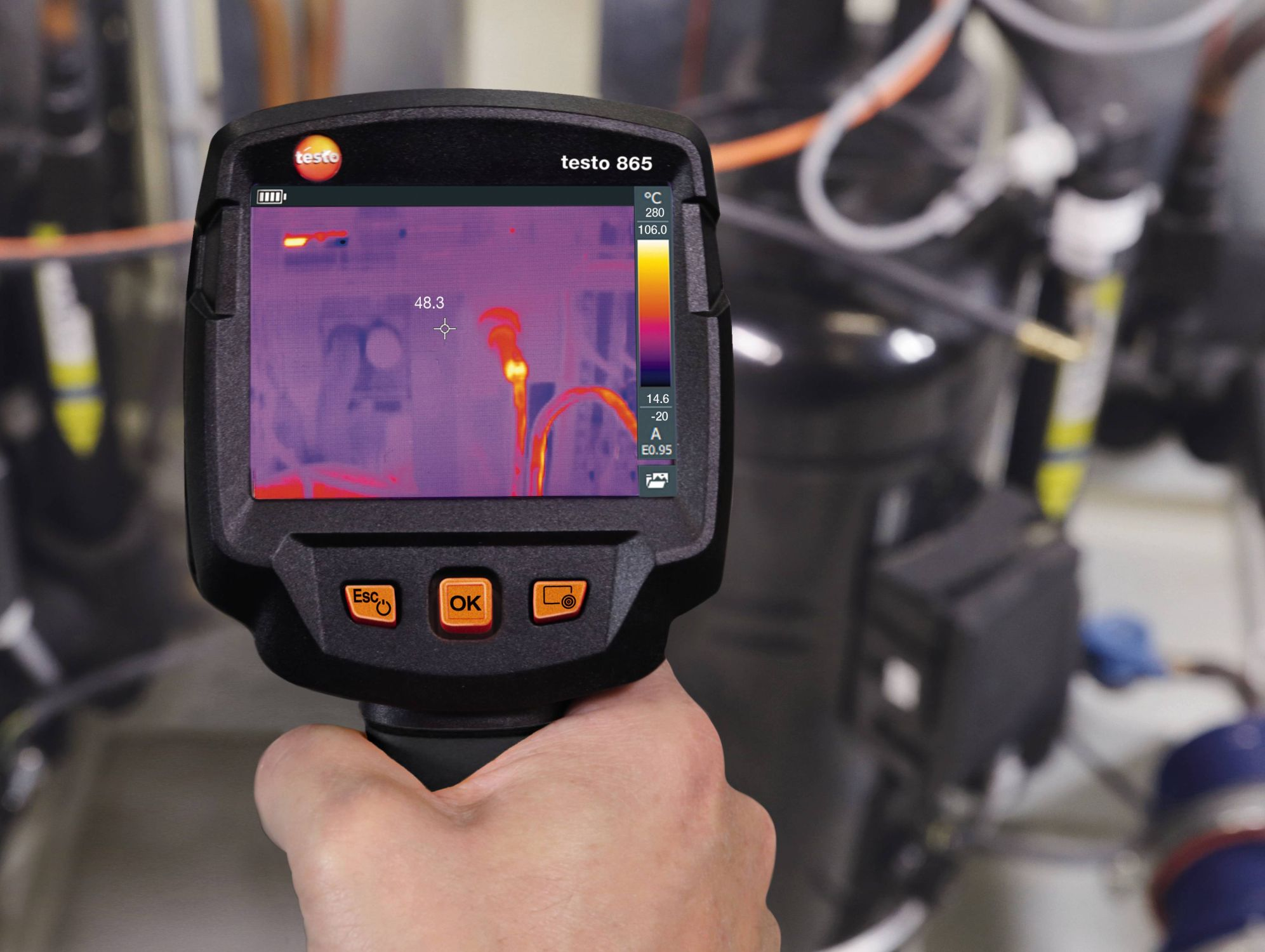 application testo 865