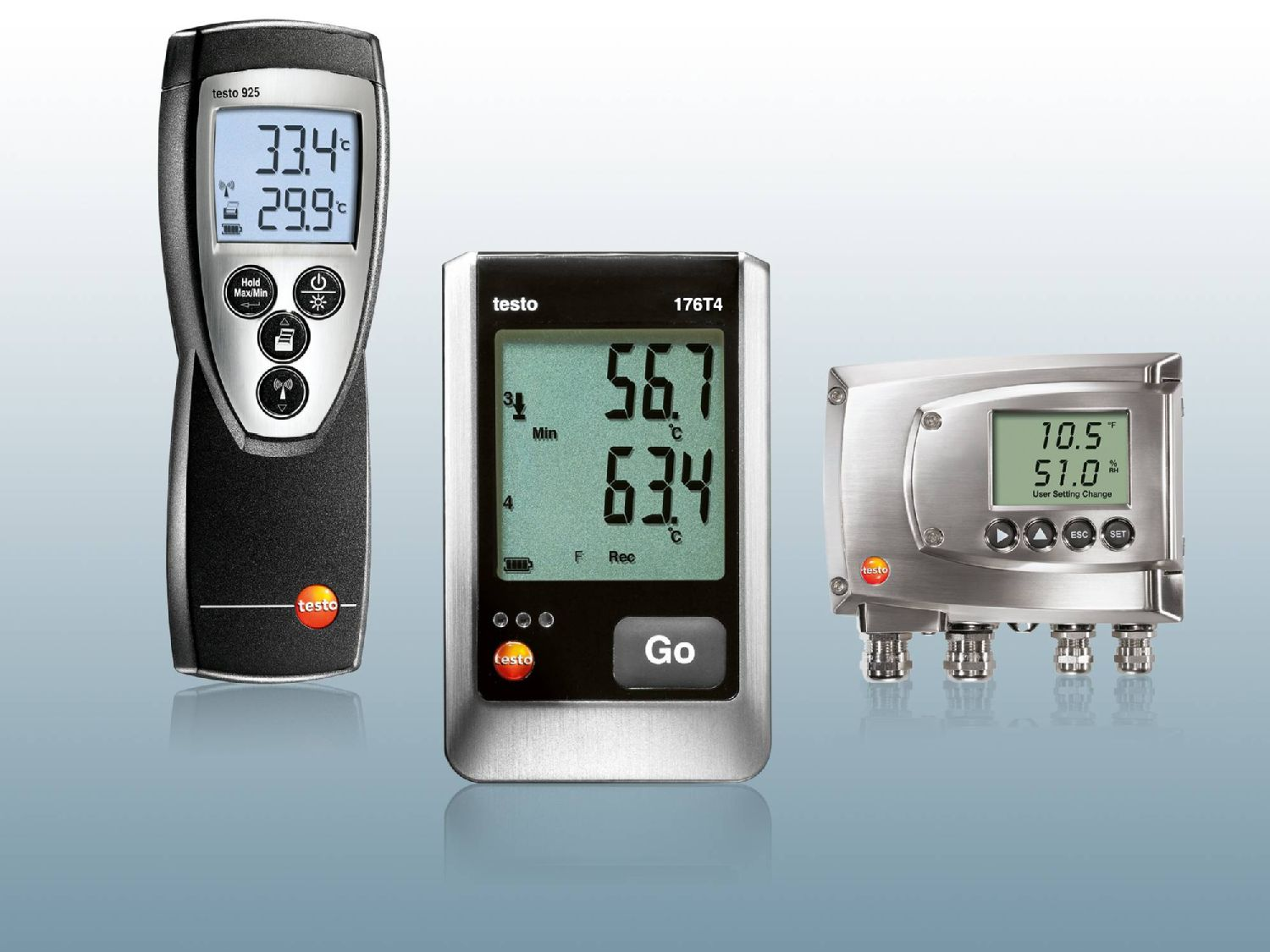 More measuring instruments from Testo