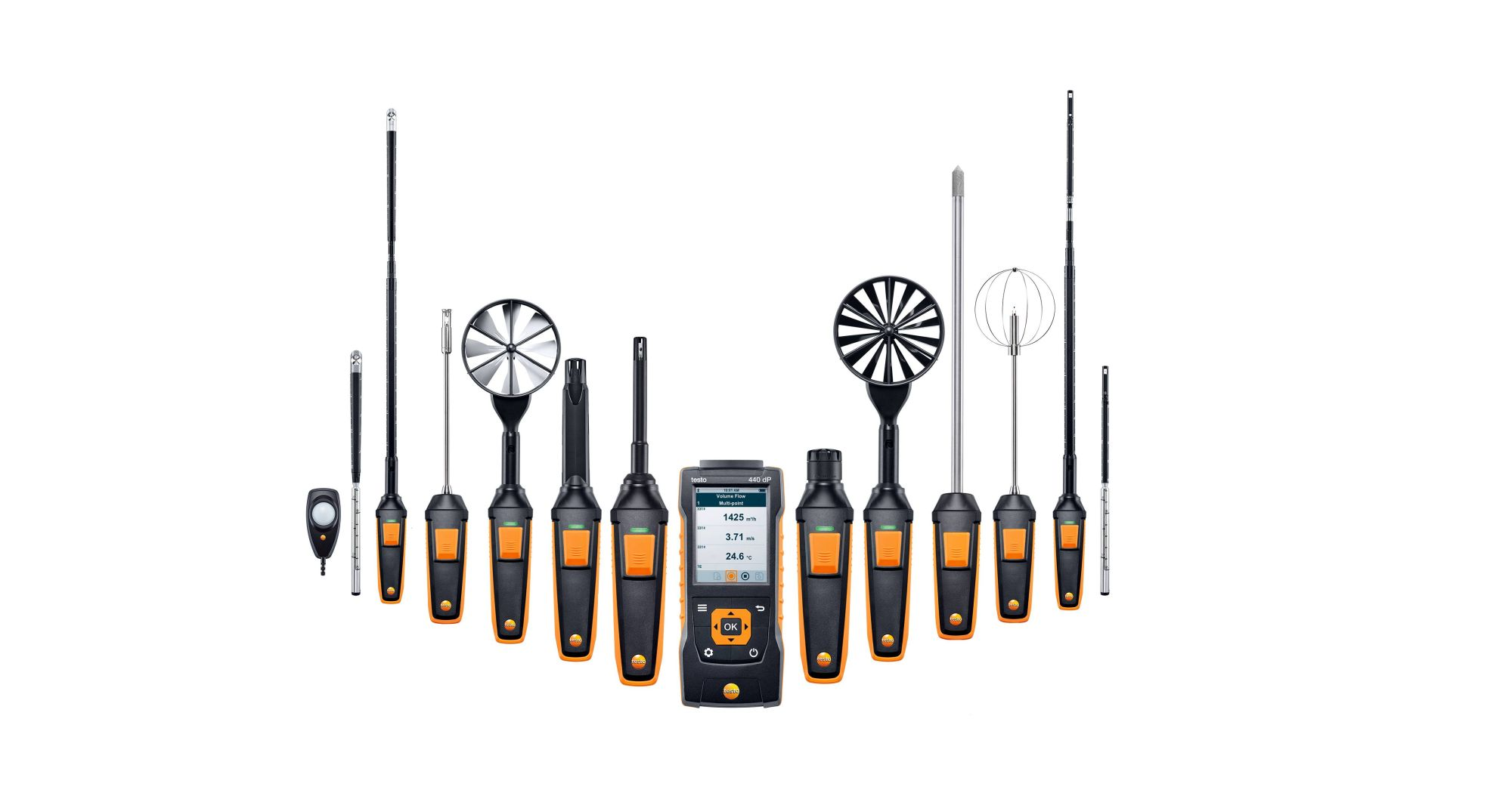 testo 440 Air velocity and IAQ measuring instrument