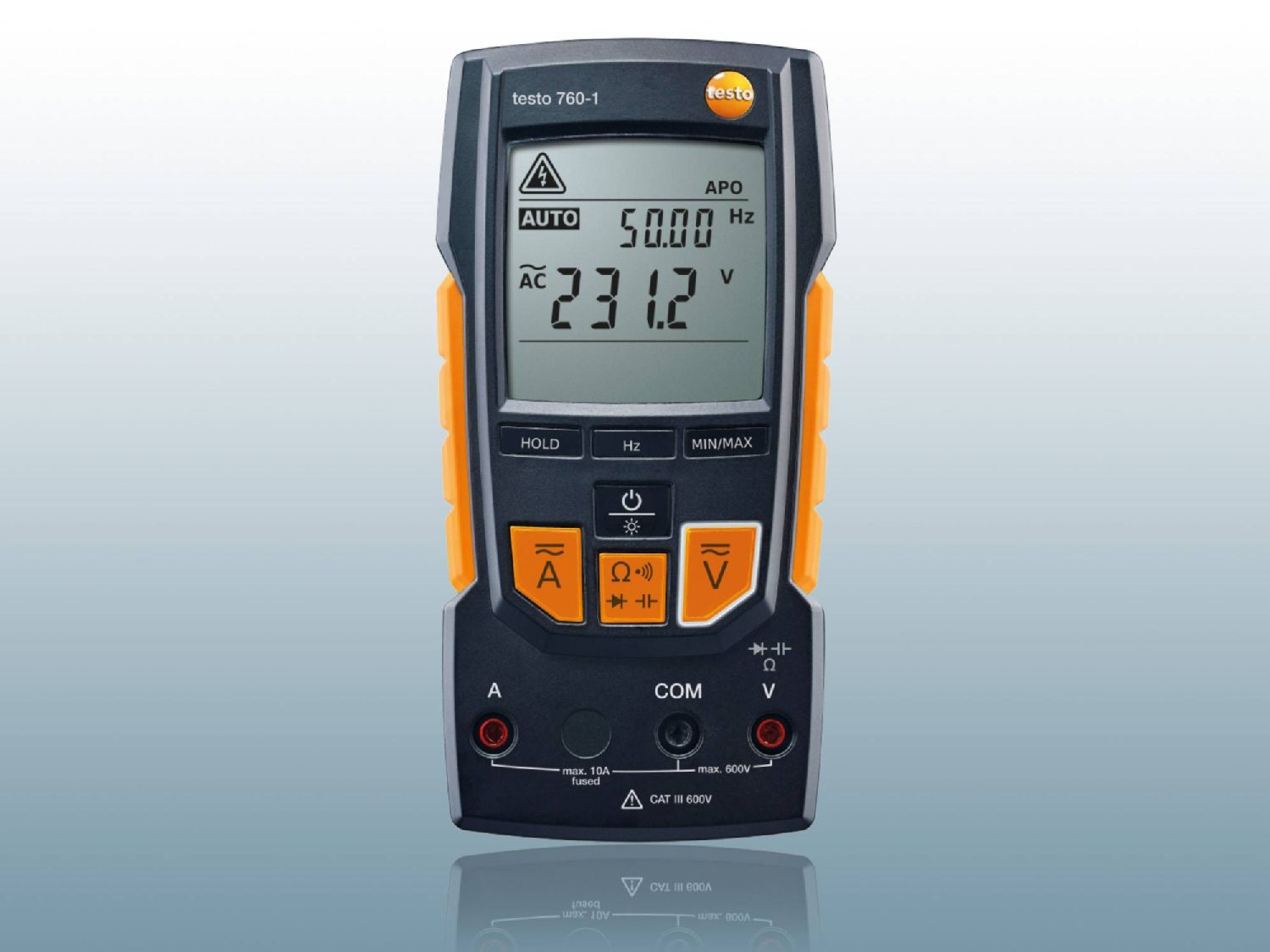 The Multimeter And Its Wide Variety Of Measurement Functions Testo Sa Electronic Multimeters Digital 760 1