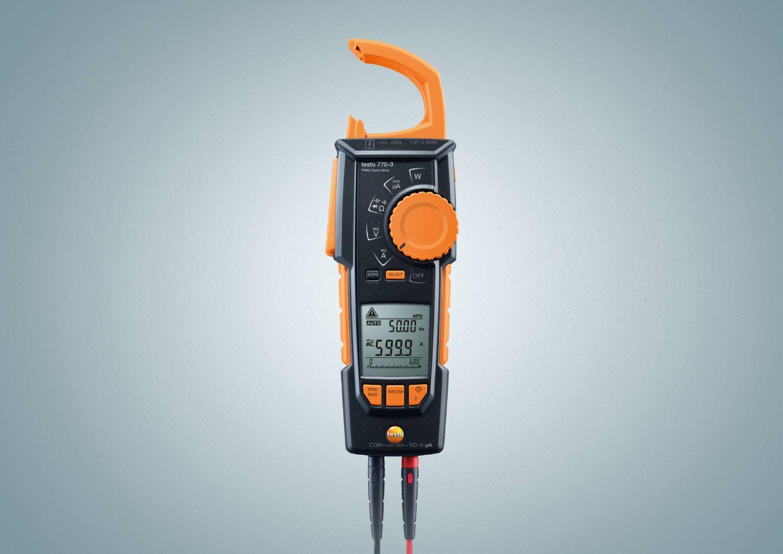 德图testo 770-3真有效值交直流钳形表可测量电阻电压电流电容频率及温度
