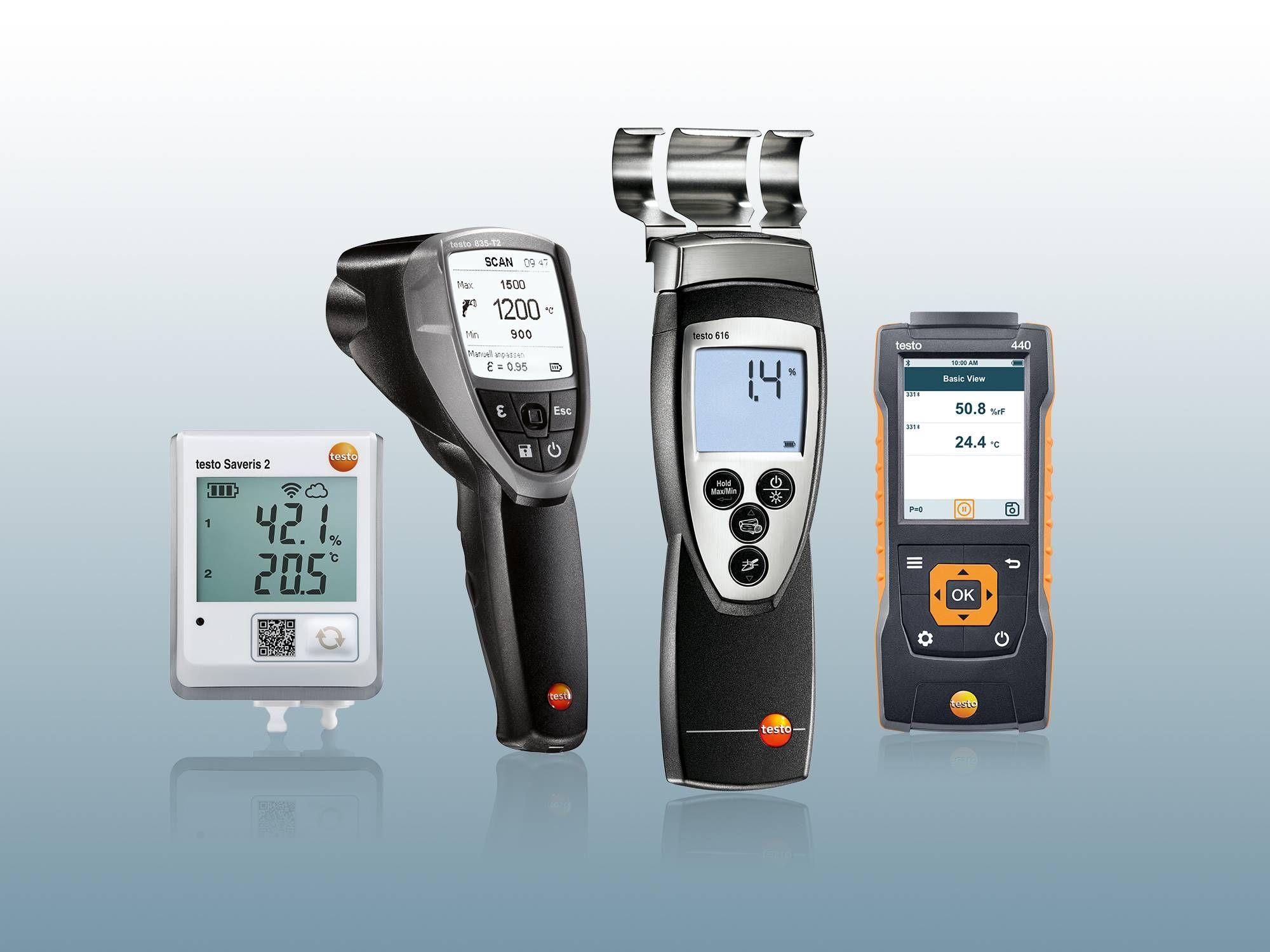 Hygromètre pour l'humidité de matériaux