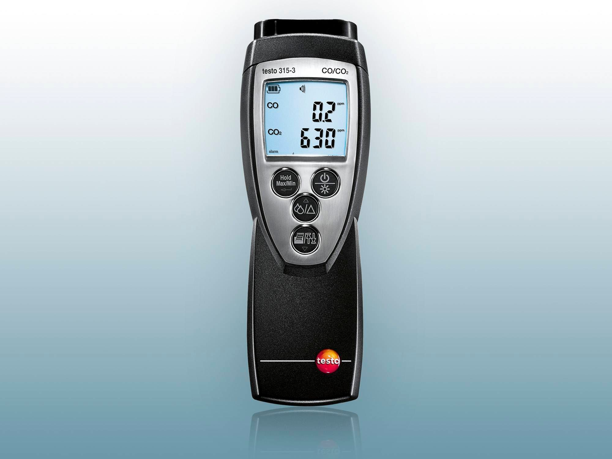 Testo CO₂ measuring