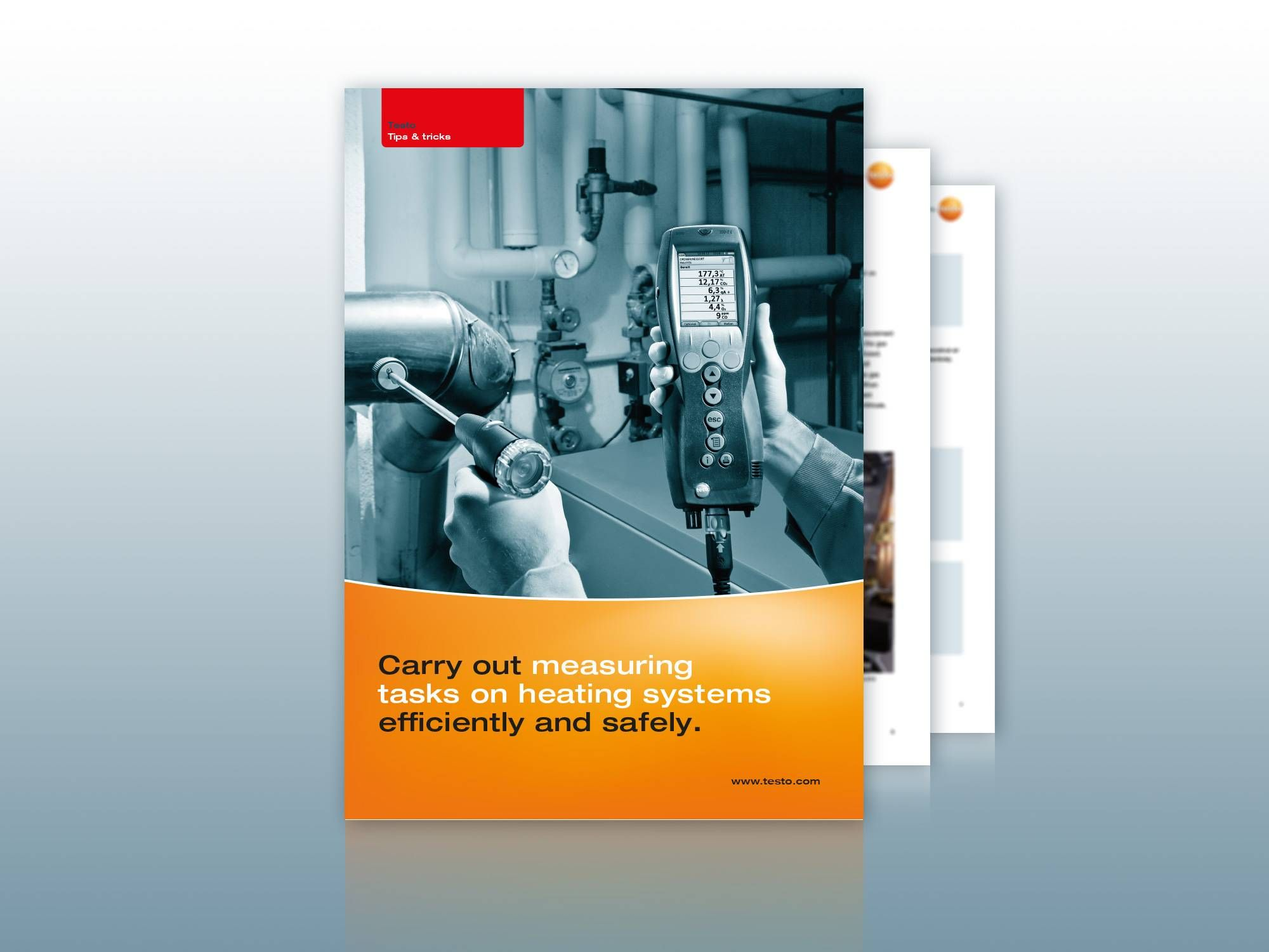 Descarga de la guía Medición de gases de combustión