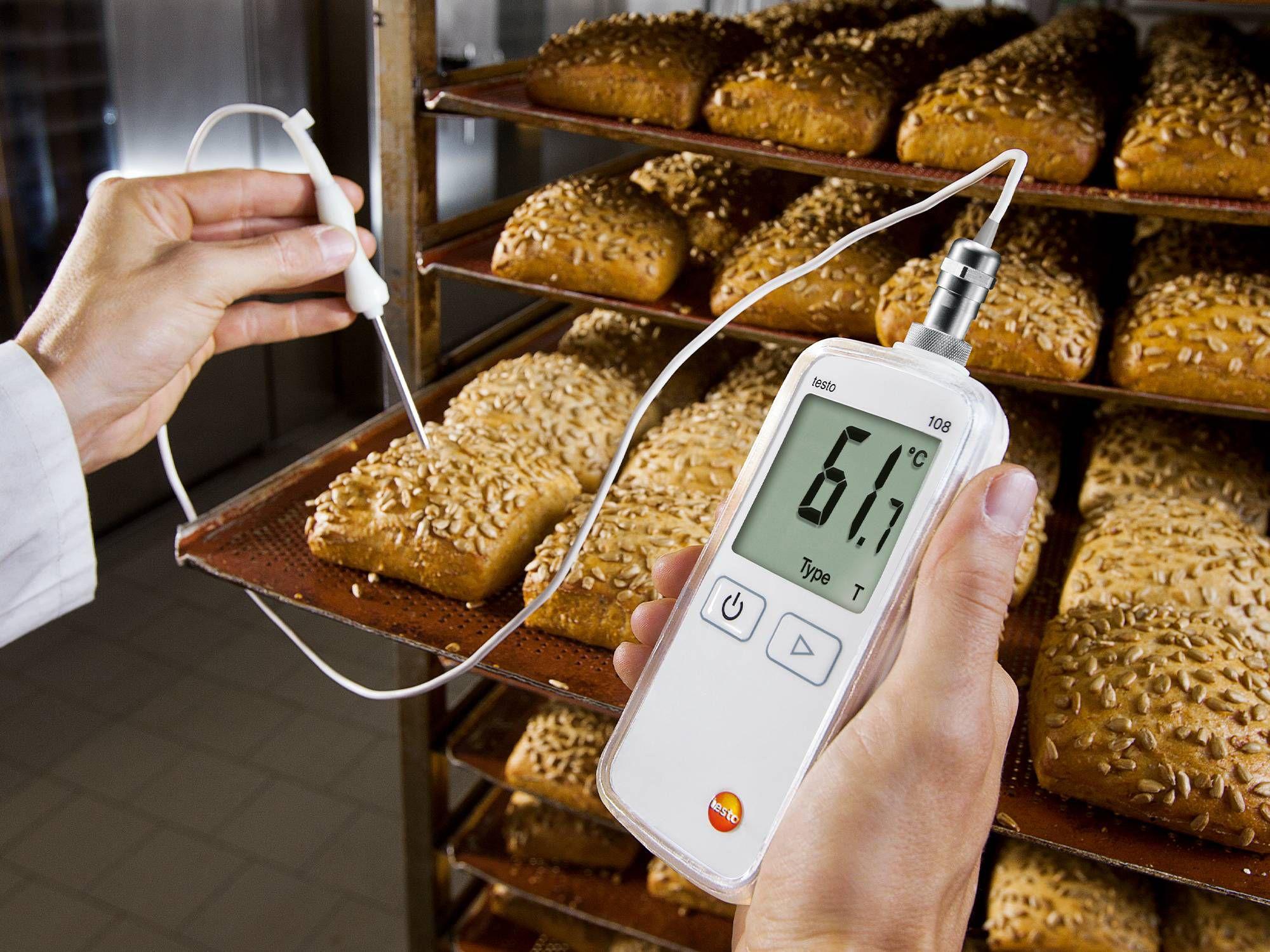 统食品生产领域的温度检查