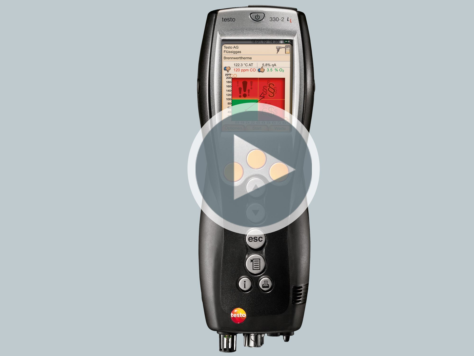 Application Videos: testo 330