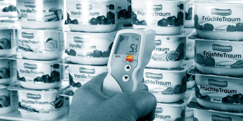 Medição da temperatura por infravermelhos