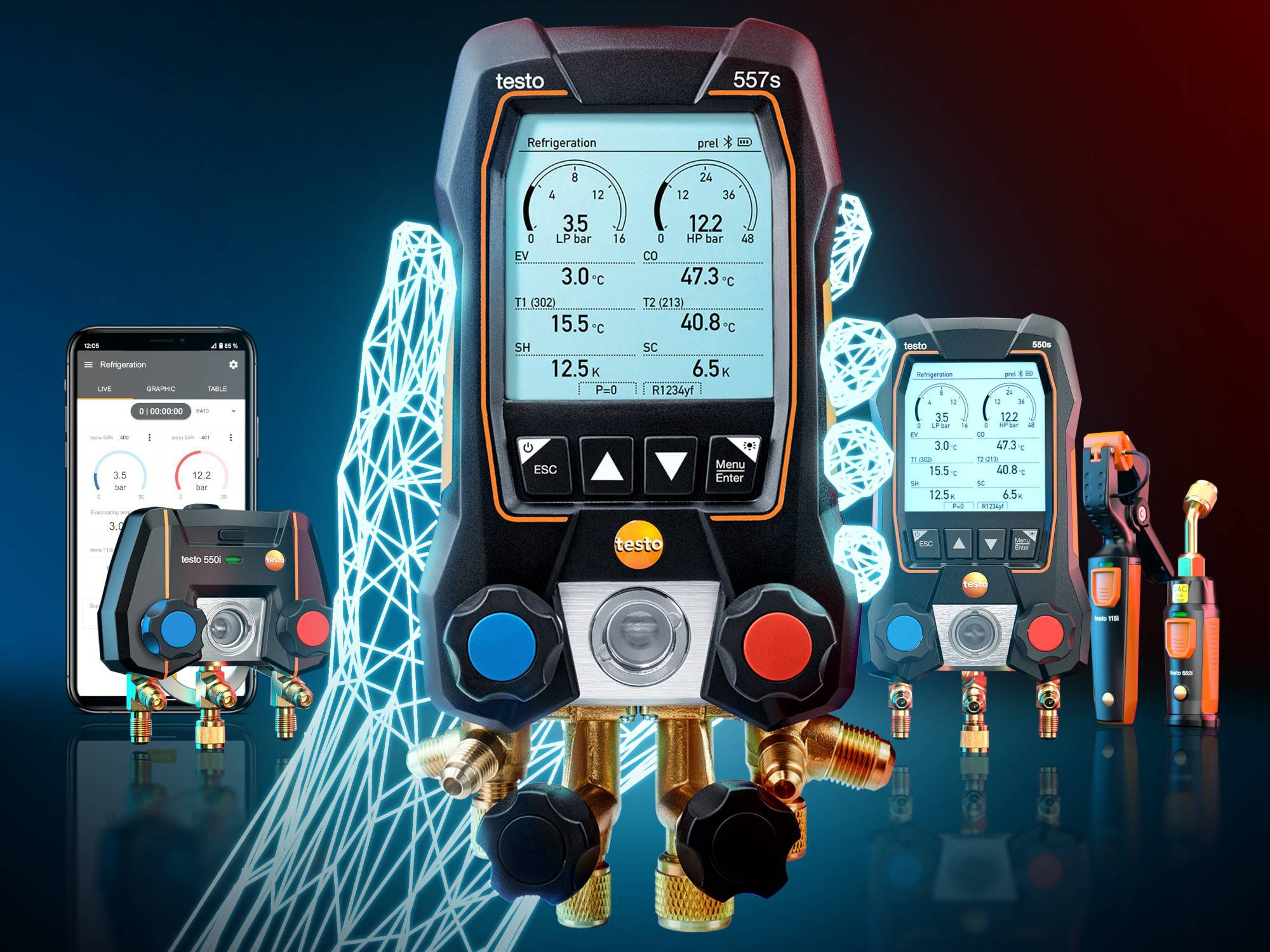 The new digital manifolds from Testo